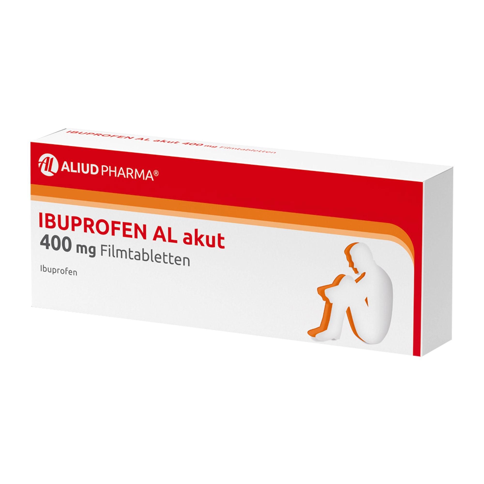 Ibuprofen AL akut 400 mg