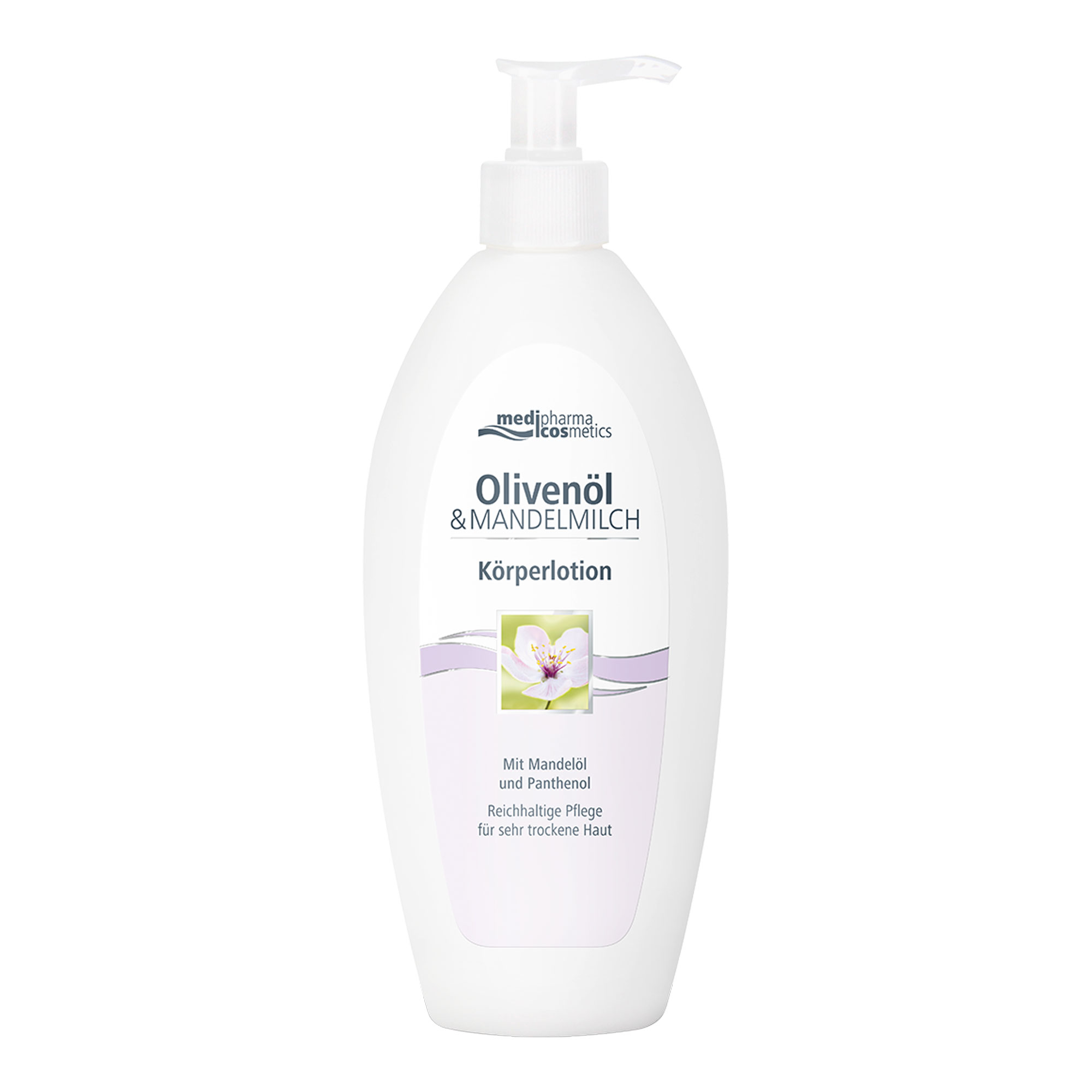 Olivenöl Mandelmilch Körperlotion