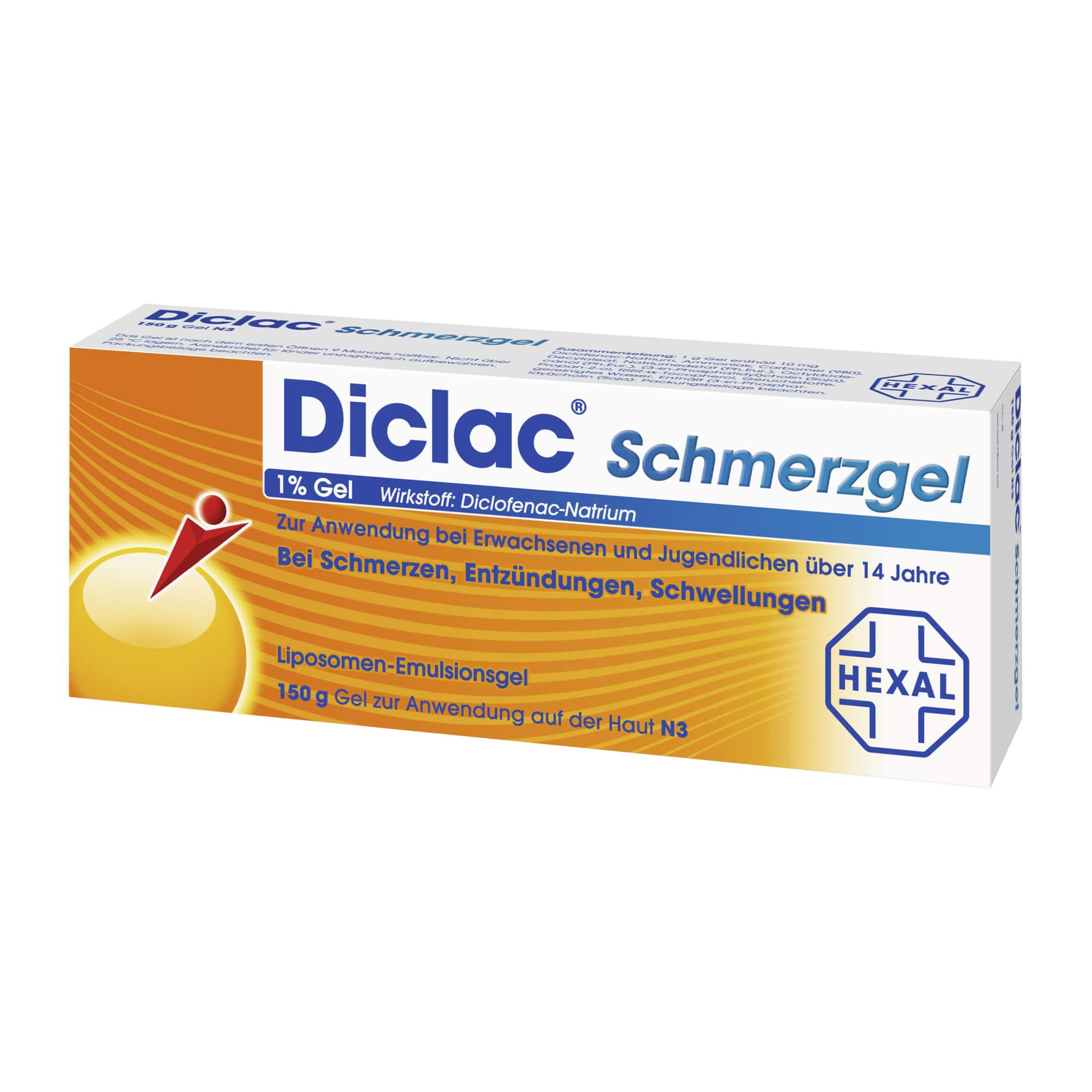 Diclac Schmerzgel 1 % Gel