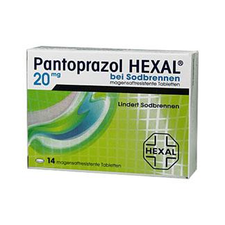 Pantoprazol Hexal bei Sodbrennen