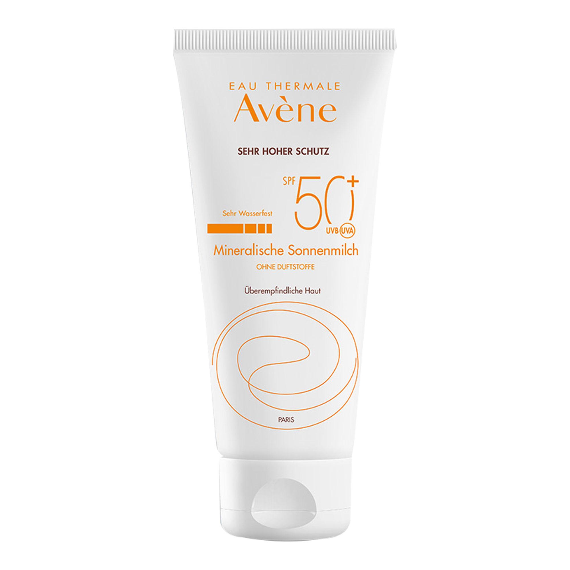 Avene Mineralische Sonnenmilch SPF 50+