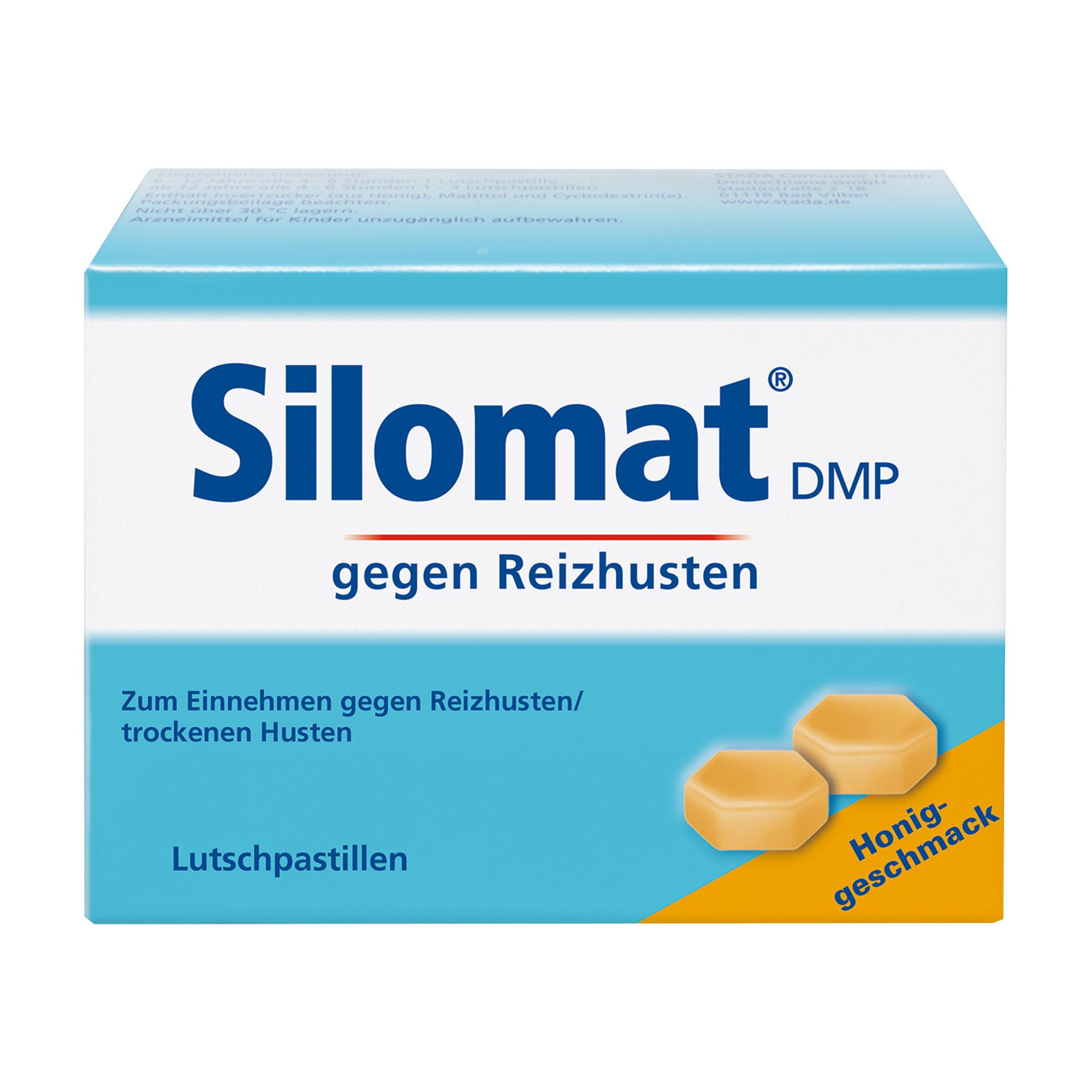 Silomat DMP gegen Reizhusten Lutschpastillen mit Honig