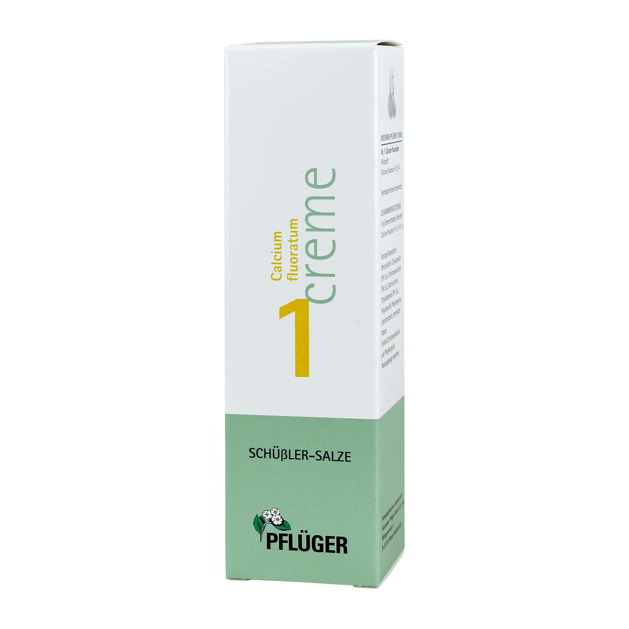 Biochemie Pflüger 1 Calcium fluor. Creme
