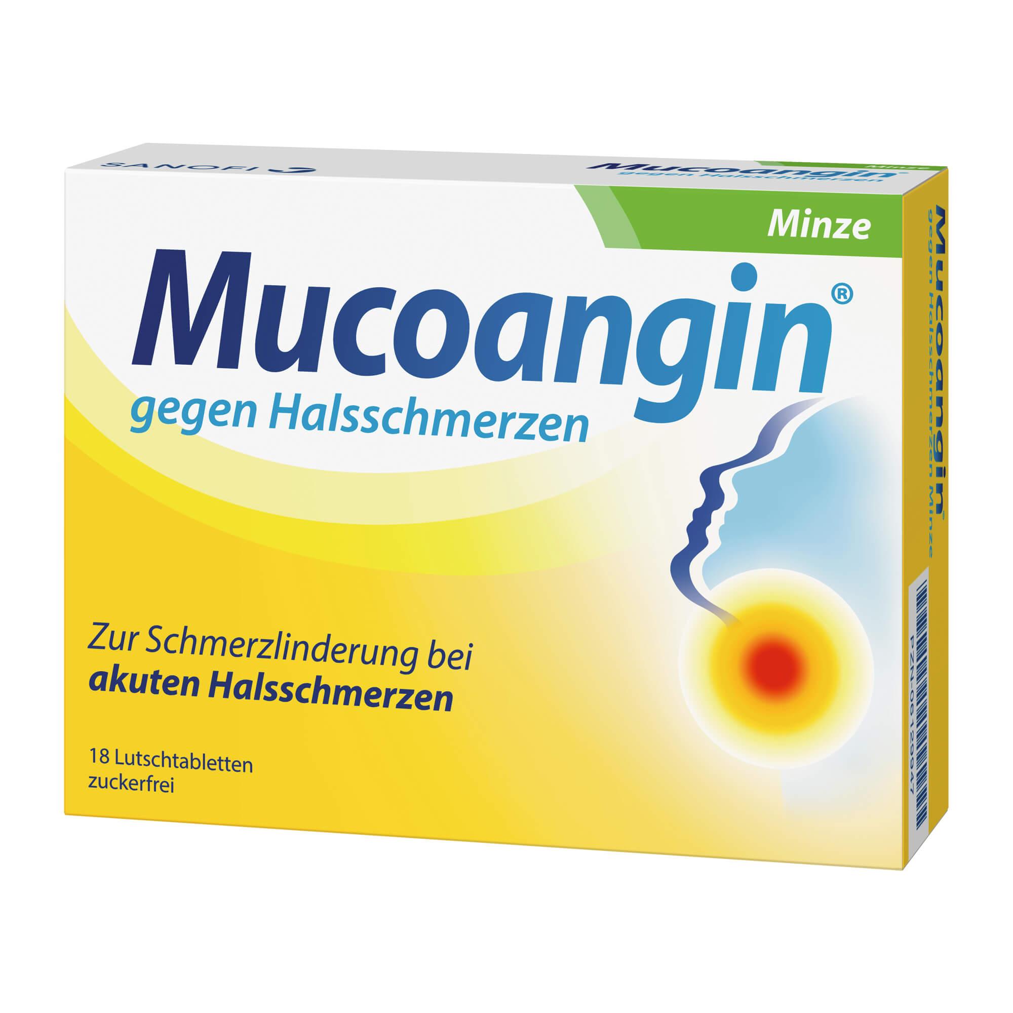 Mucoangin Minze 20 mg Lutschtabletten