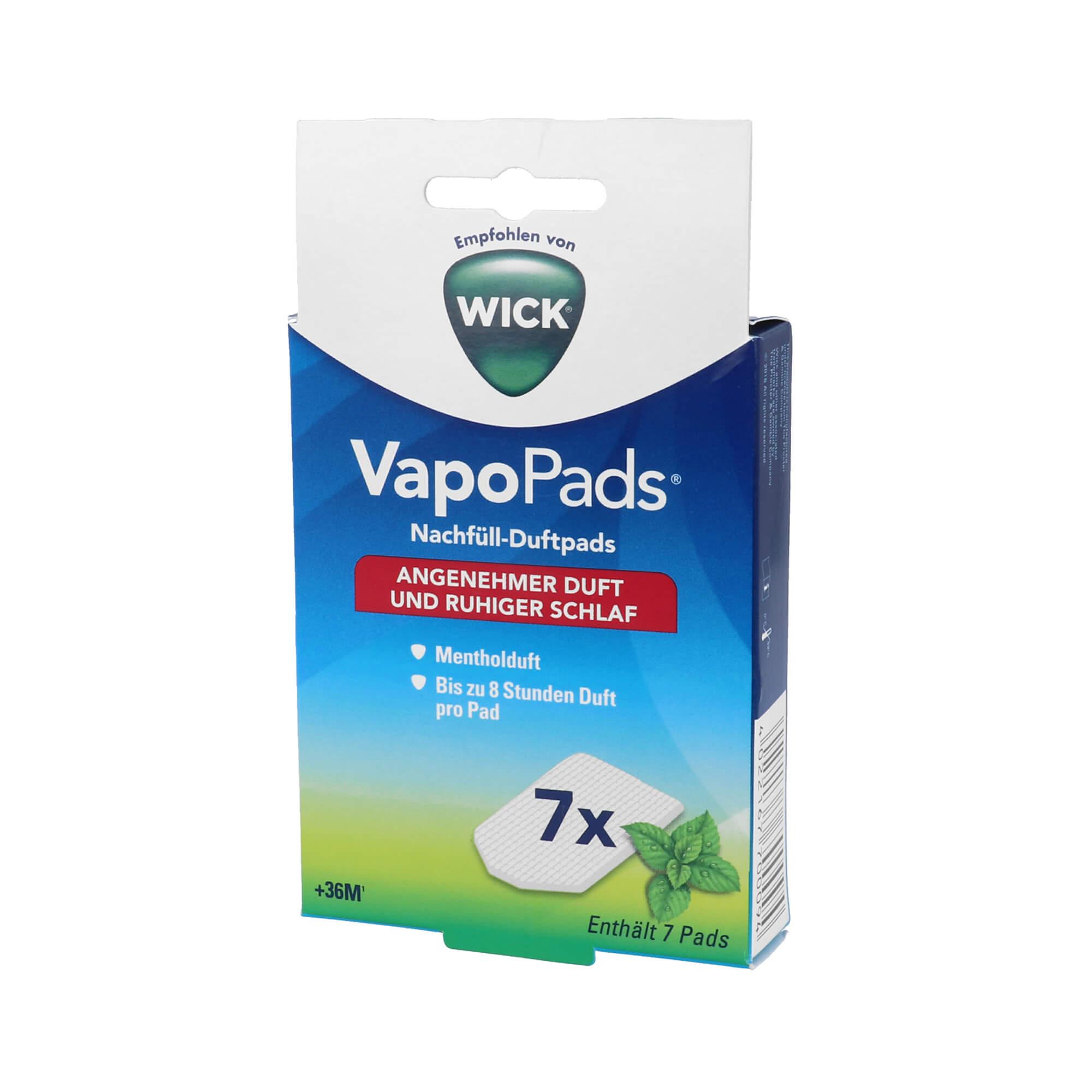 Wick VapoPads 7 Menthol Pads