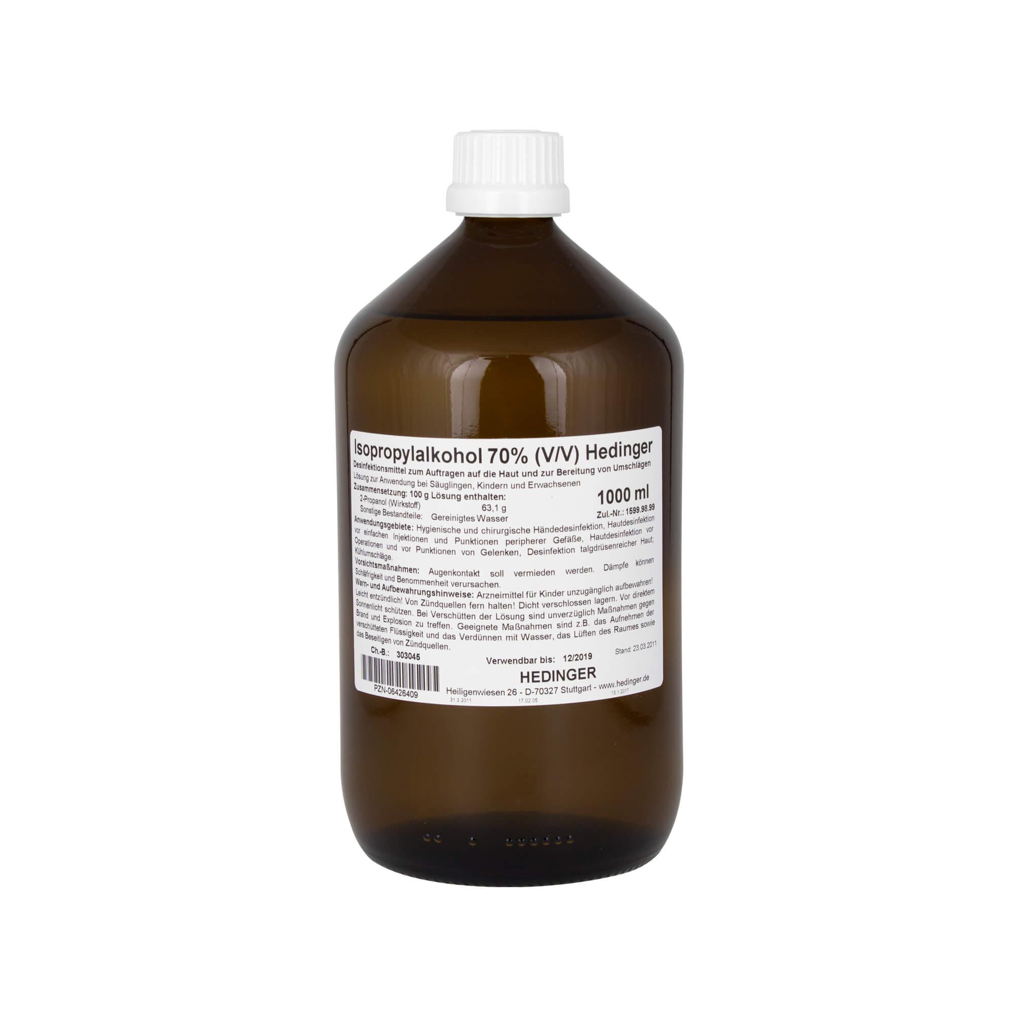 Hedinger Isopropylakohol 70 %