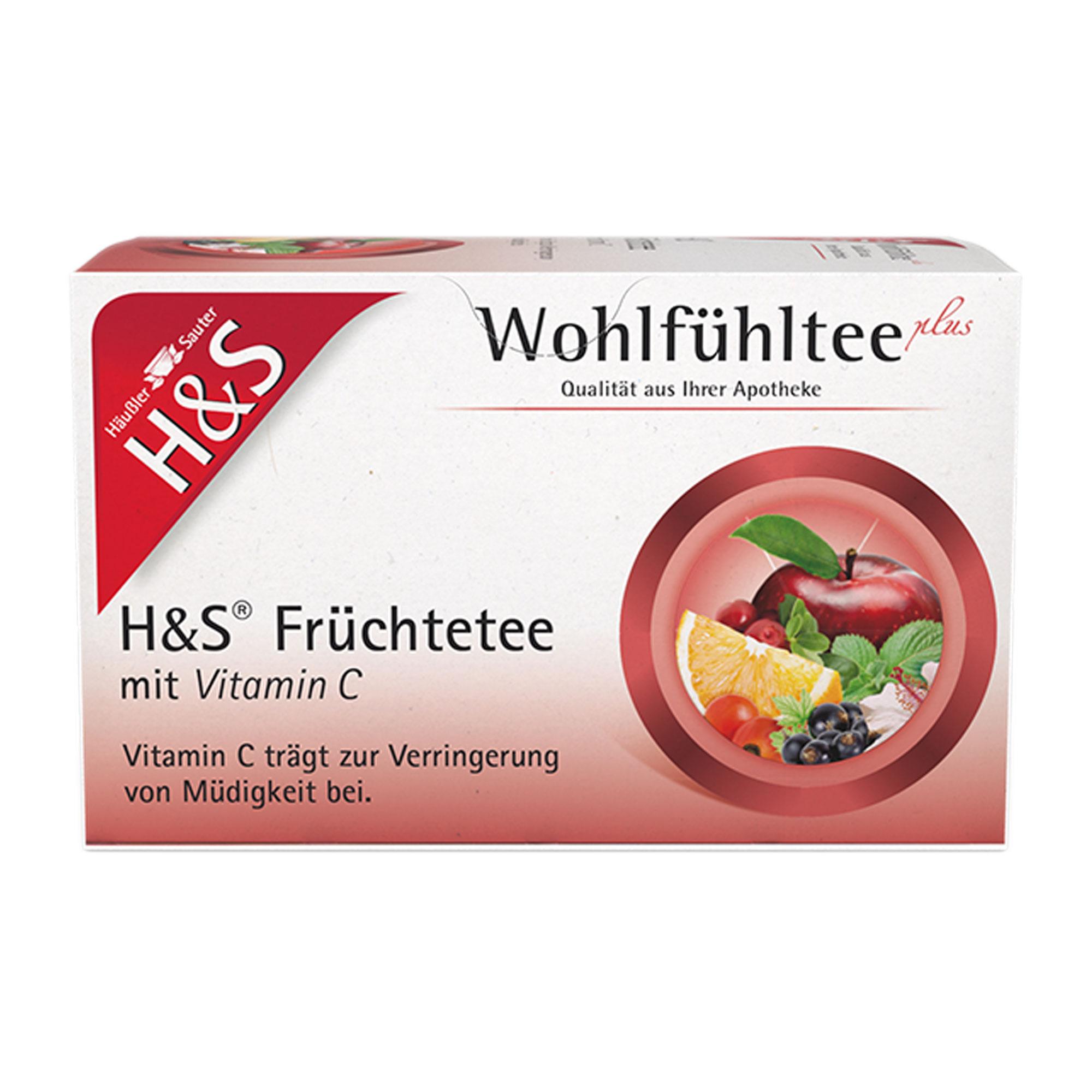 H&S Früchtetee mit Vitamin C