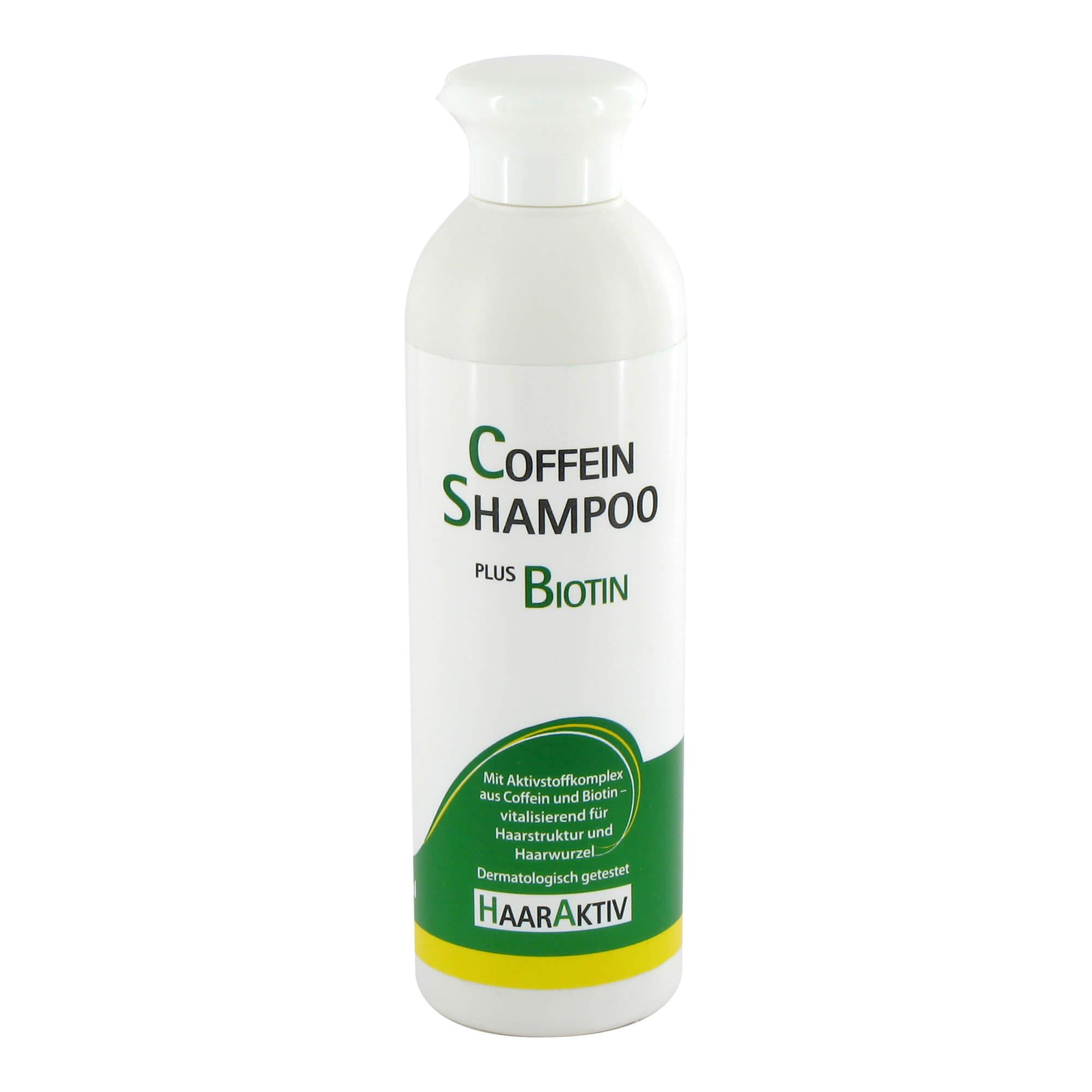 HaarAktiv Coffein Shampoo + Biotin