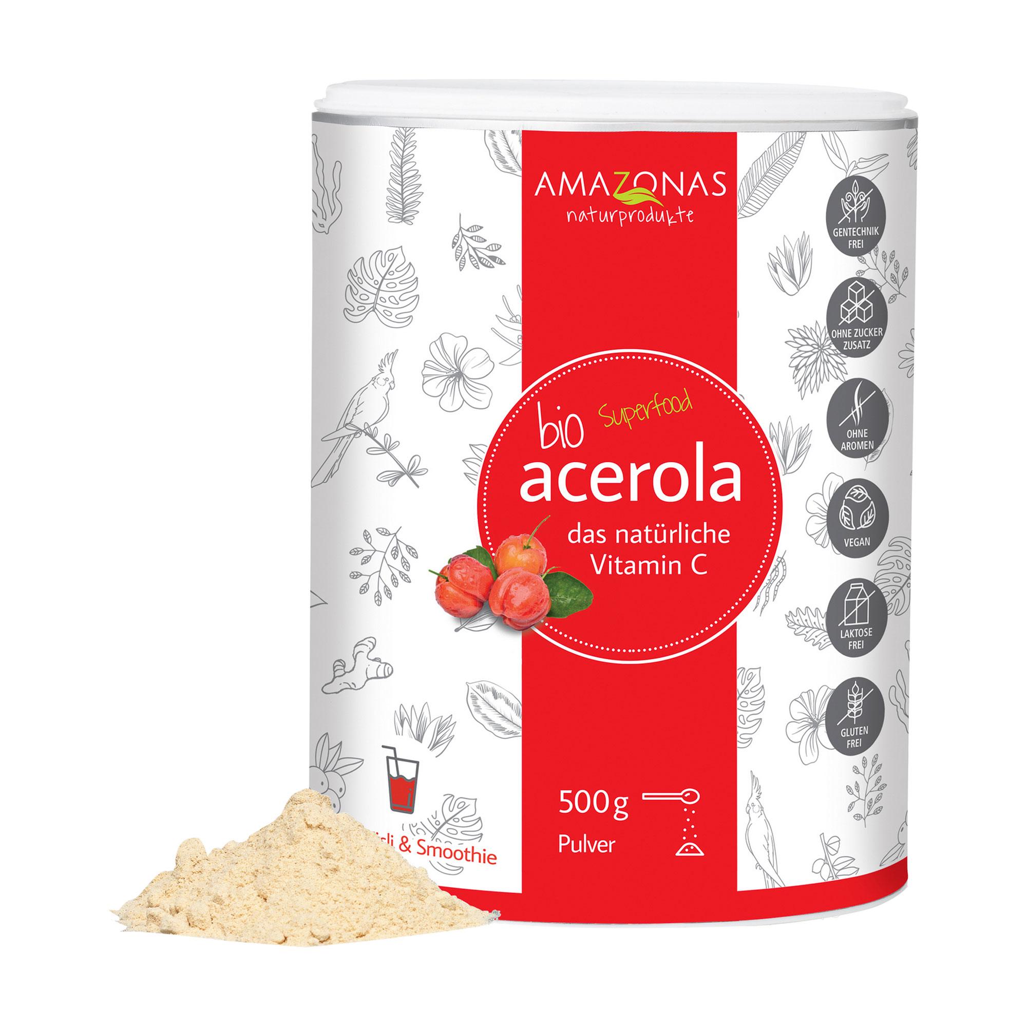 ACEROLA 100% BIO PUR VIT C