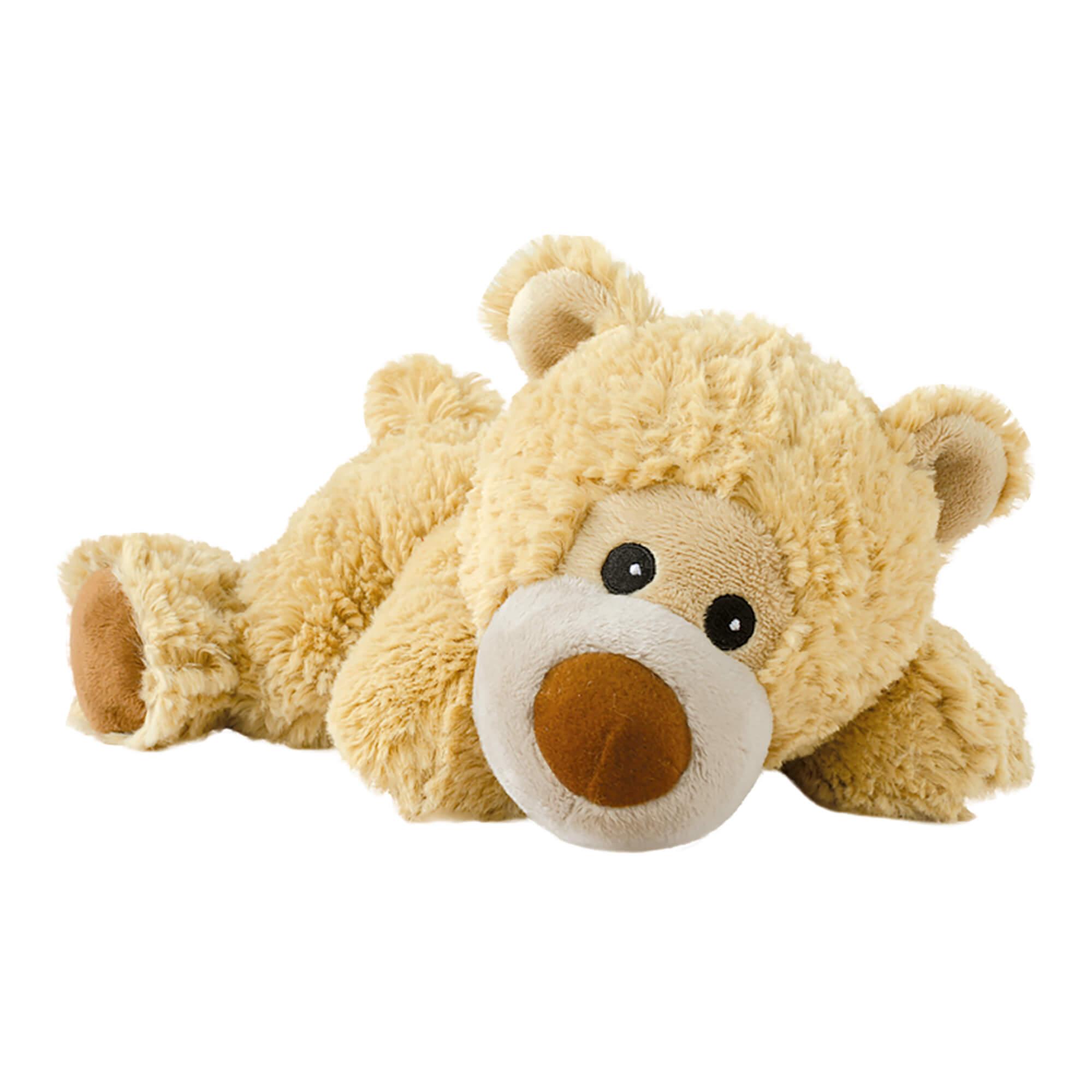 Warmies Stofftier liegender Bär