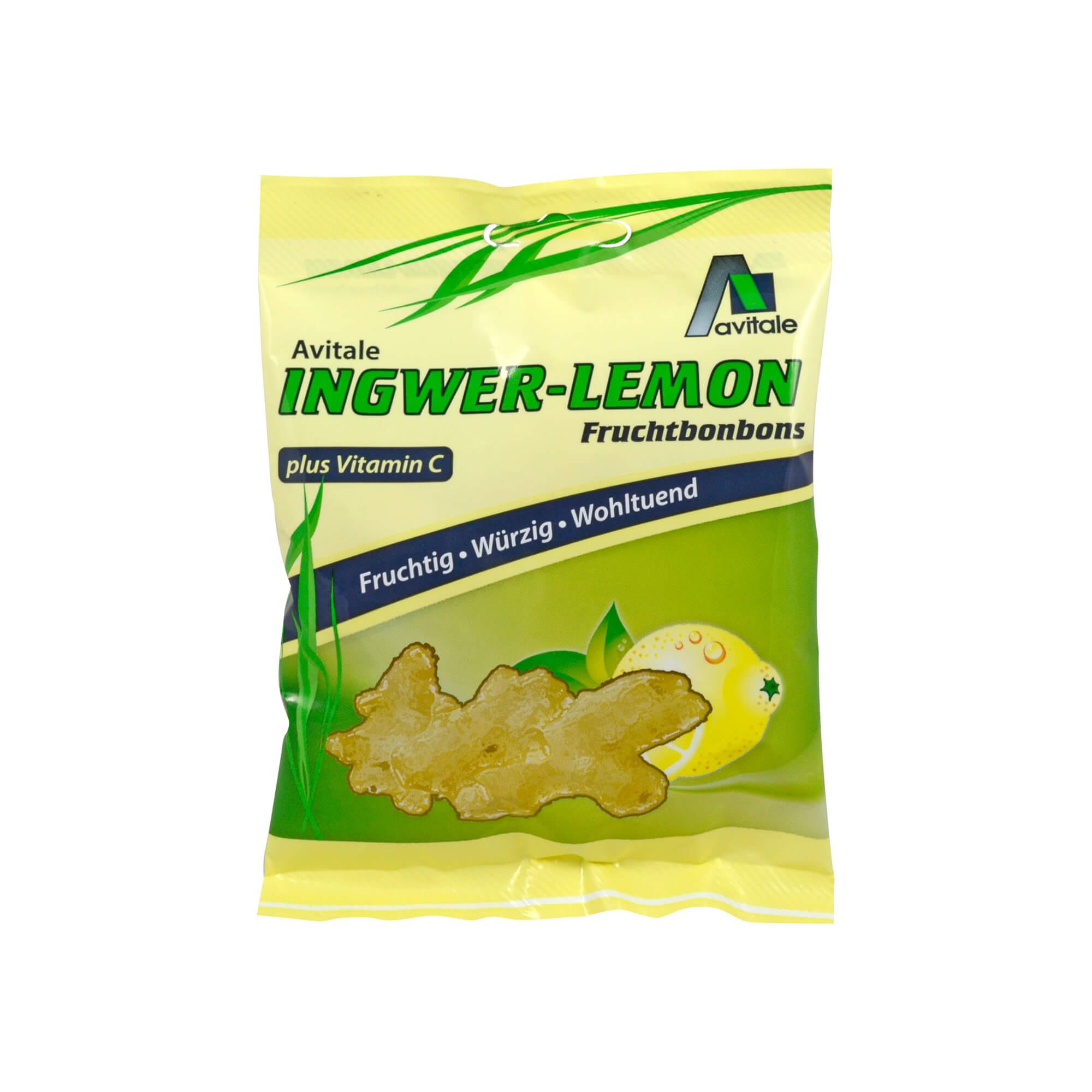 Ingwer Lemon Fruchtbonbons