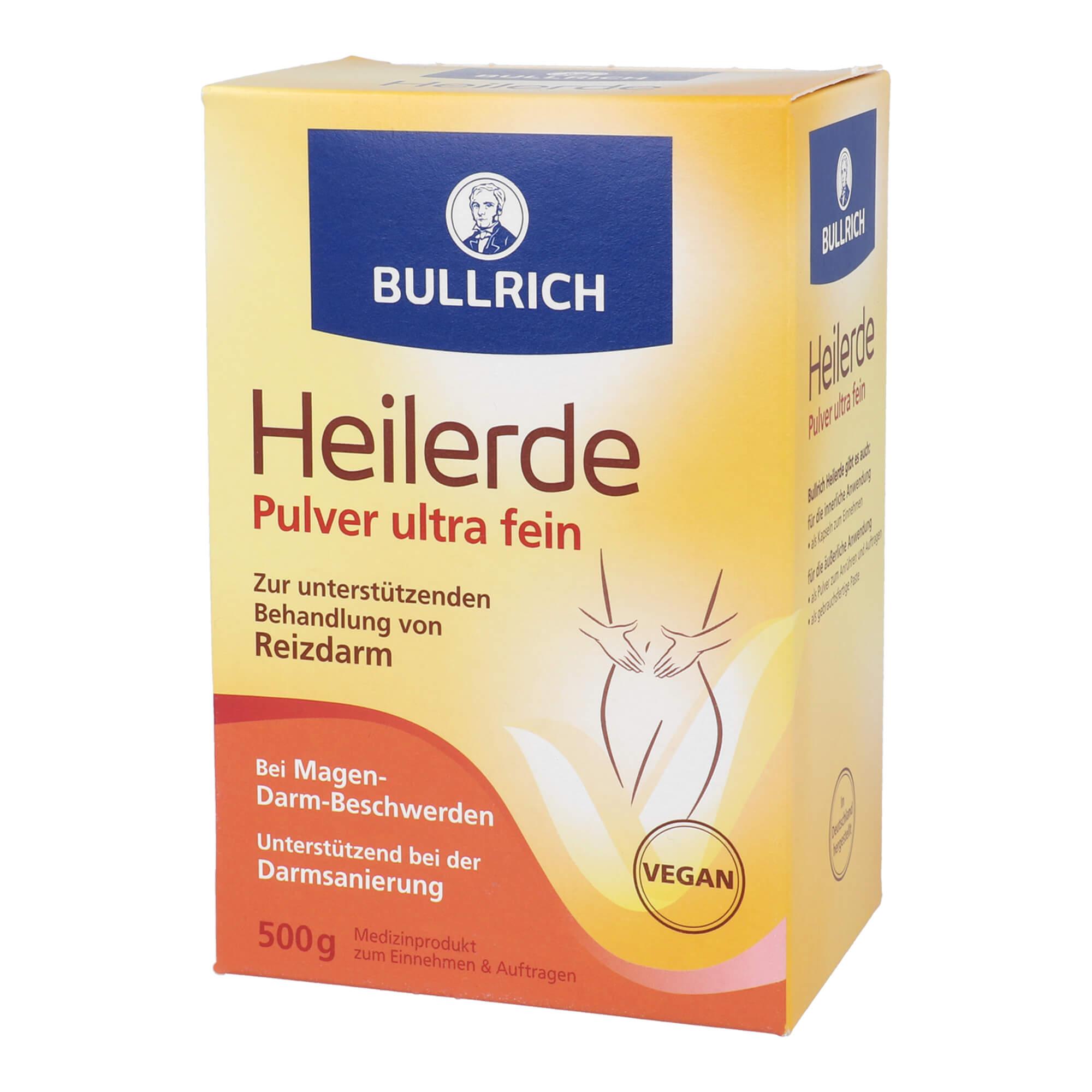 Bullrichs Heilerde Pulver zum Einnehmen und Auftragen
