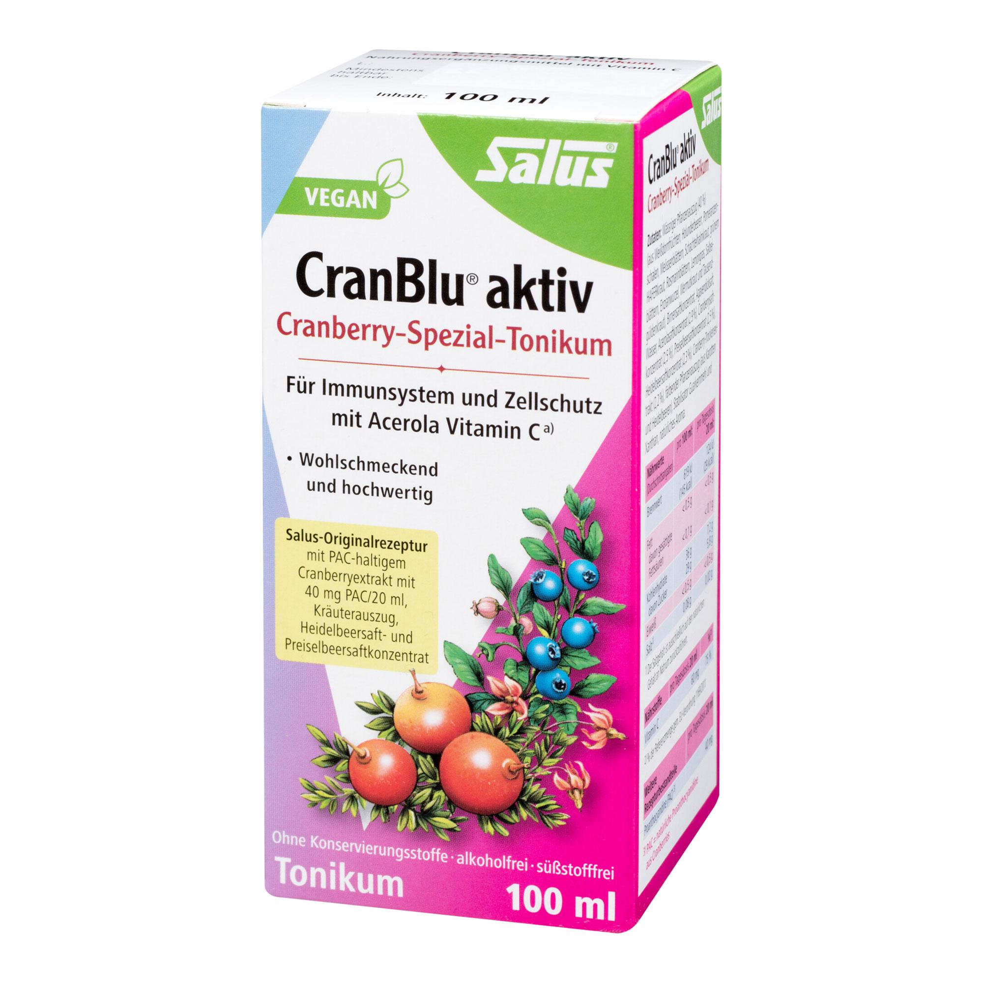 Cranblu aktiv Tonikum