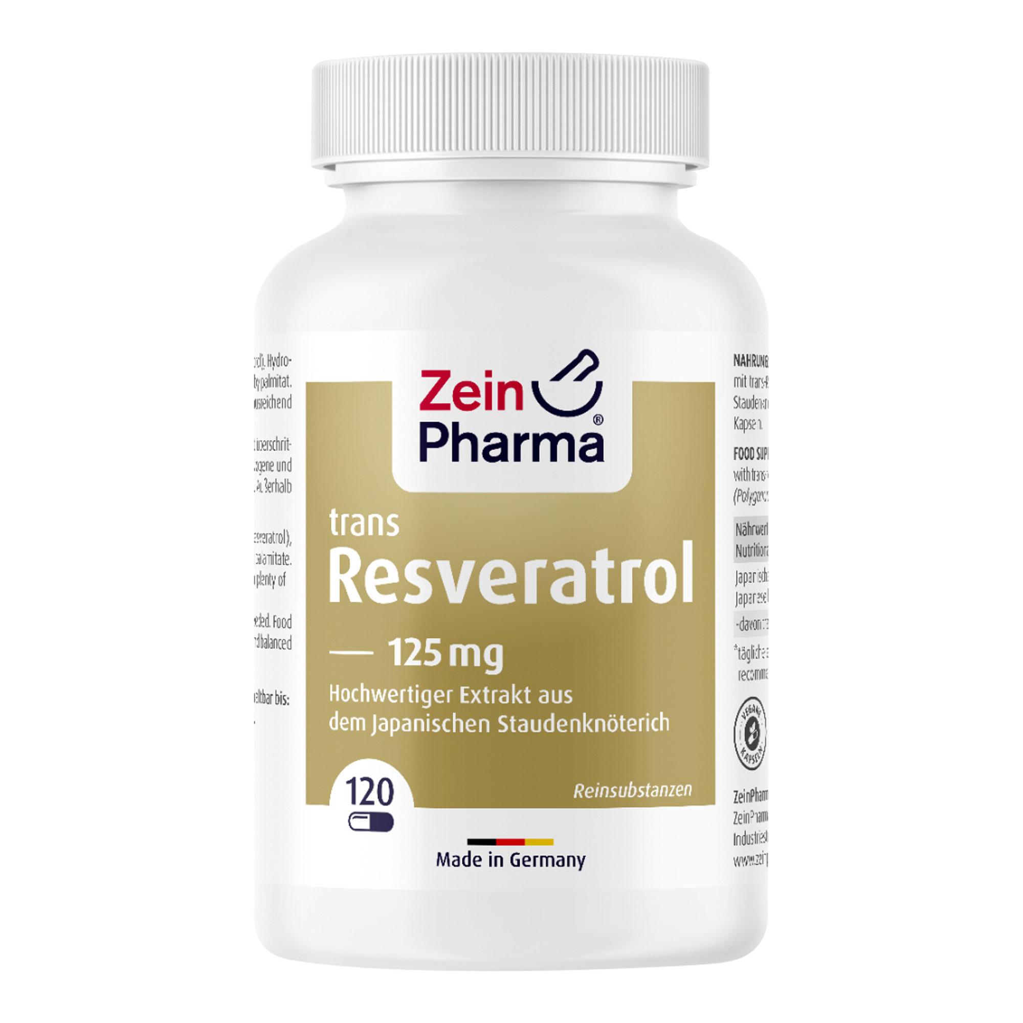 Resveratrol 125 Caps