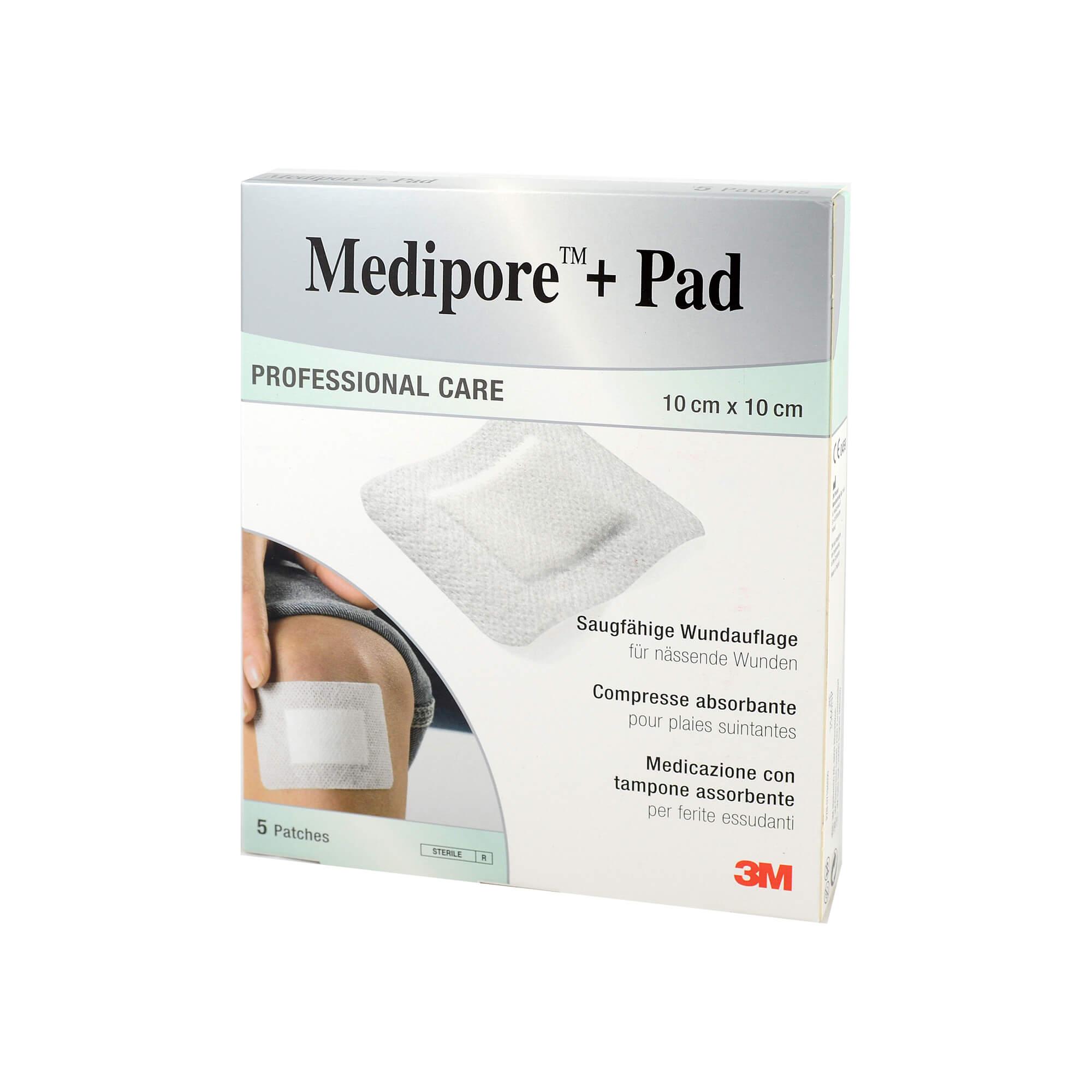 Medipore + Pad 3M 10x10cm 3566np Pflaster