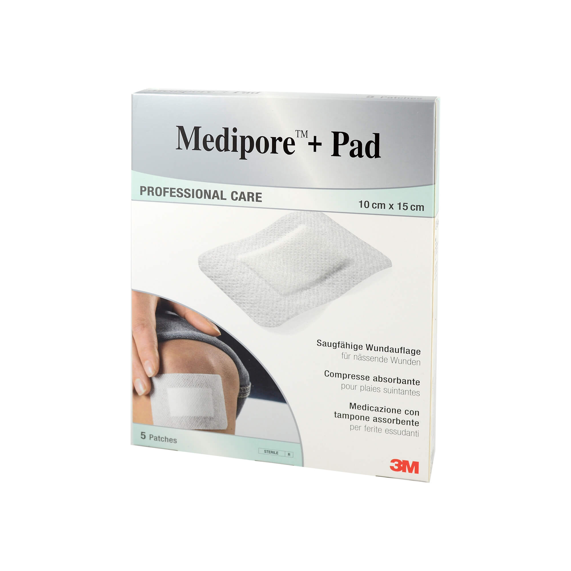 Medipore + Pad 3M 10x15cm 3569np Pflaster