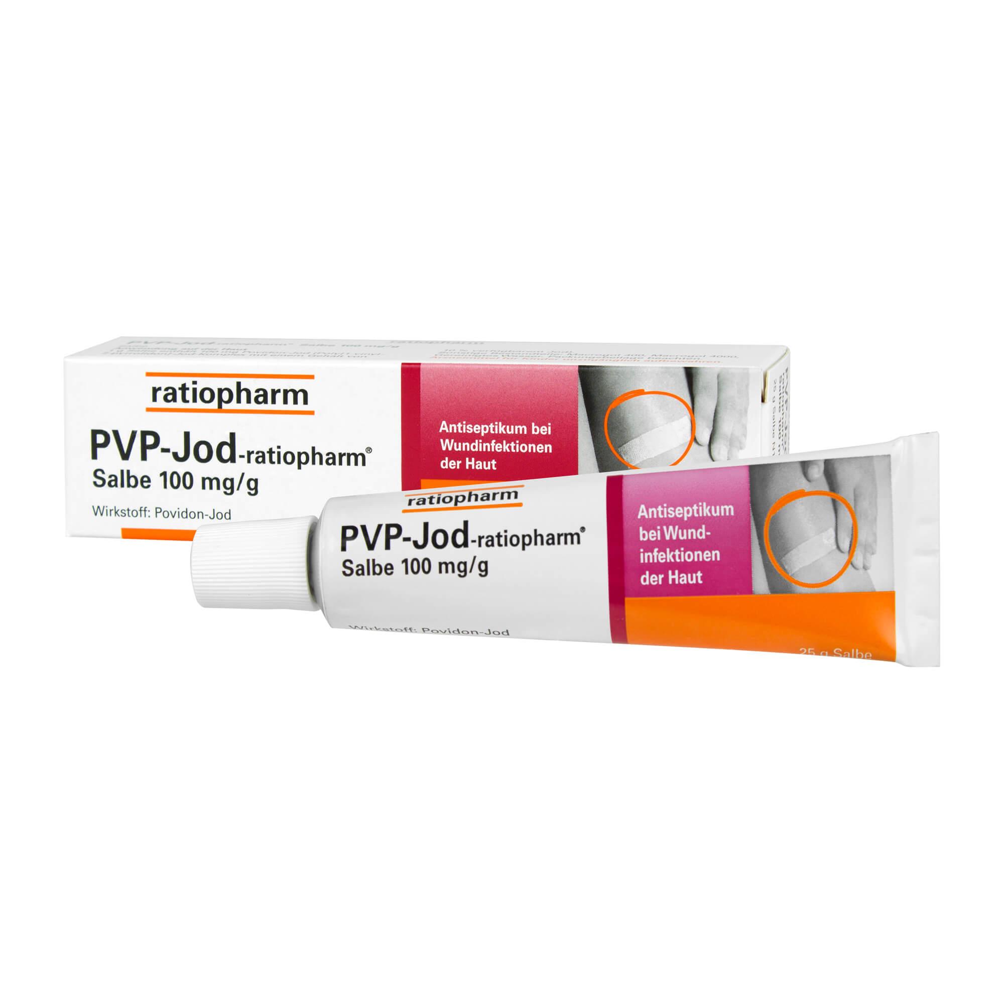 PVP-Jod-ratiopharm Salbe Antiseptikum
