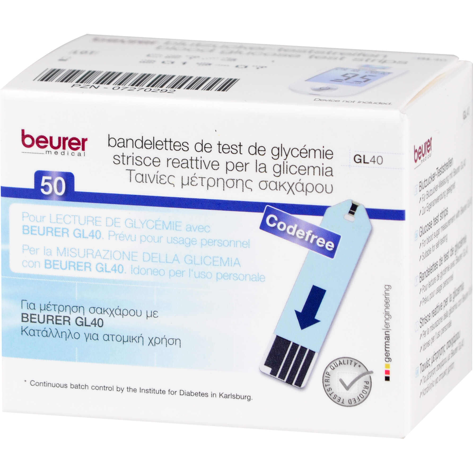Beurer Teststreifen GL 40