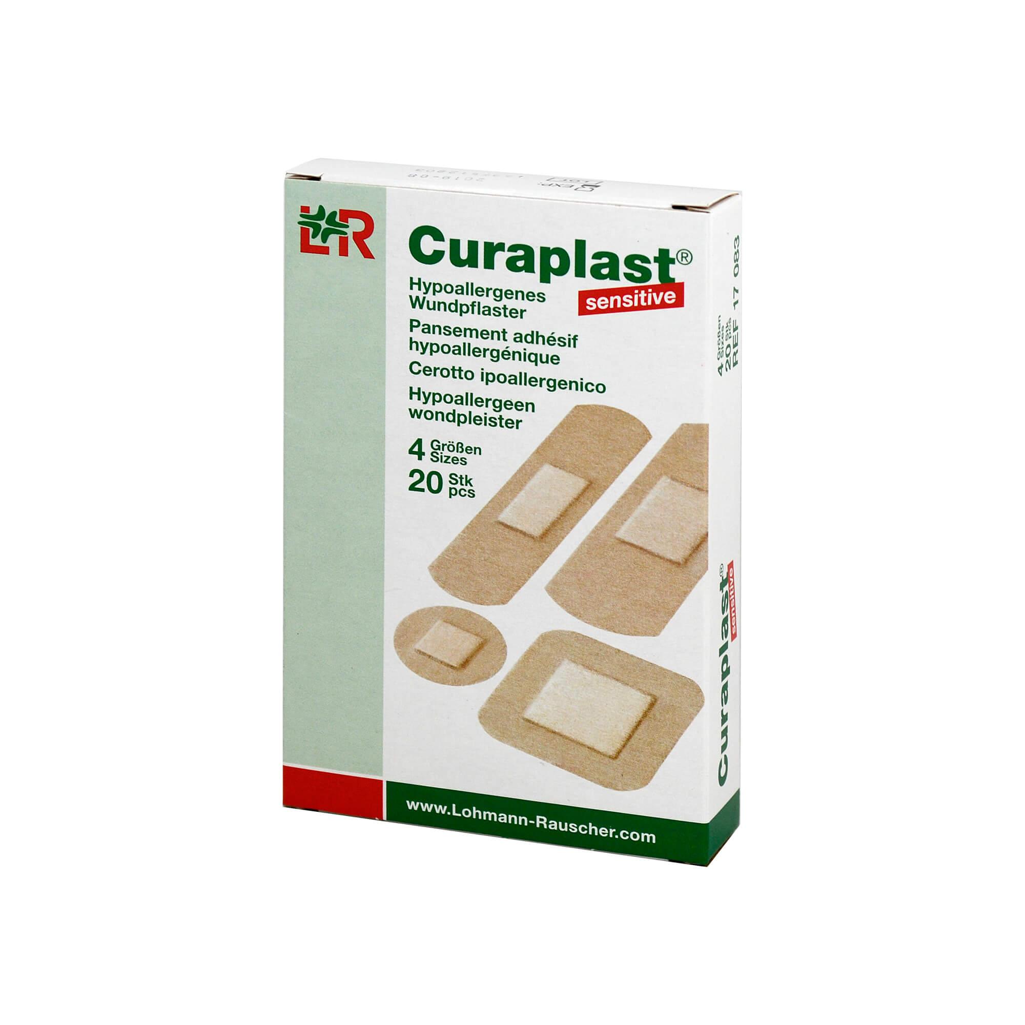 Curaplast Strips Sensitiv Sortiert