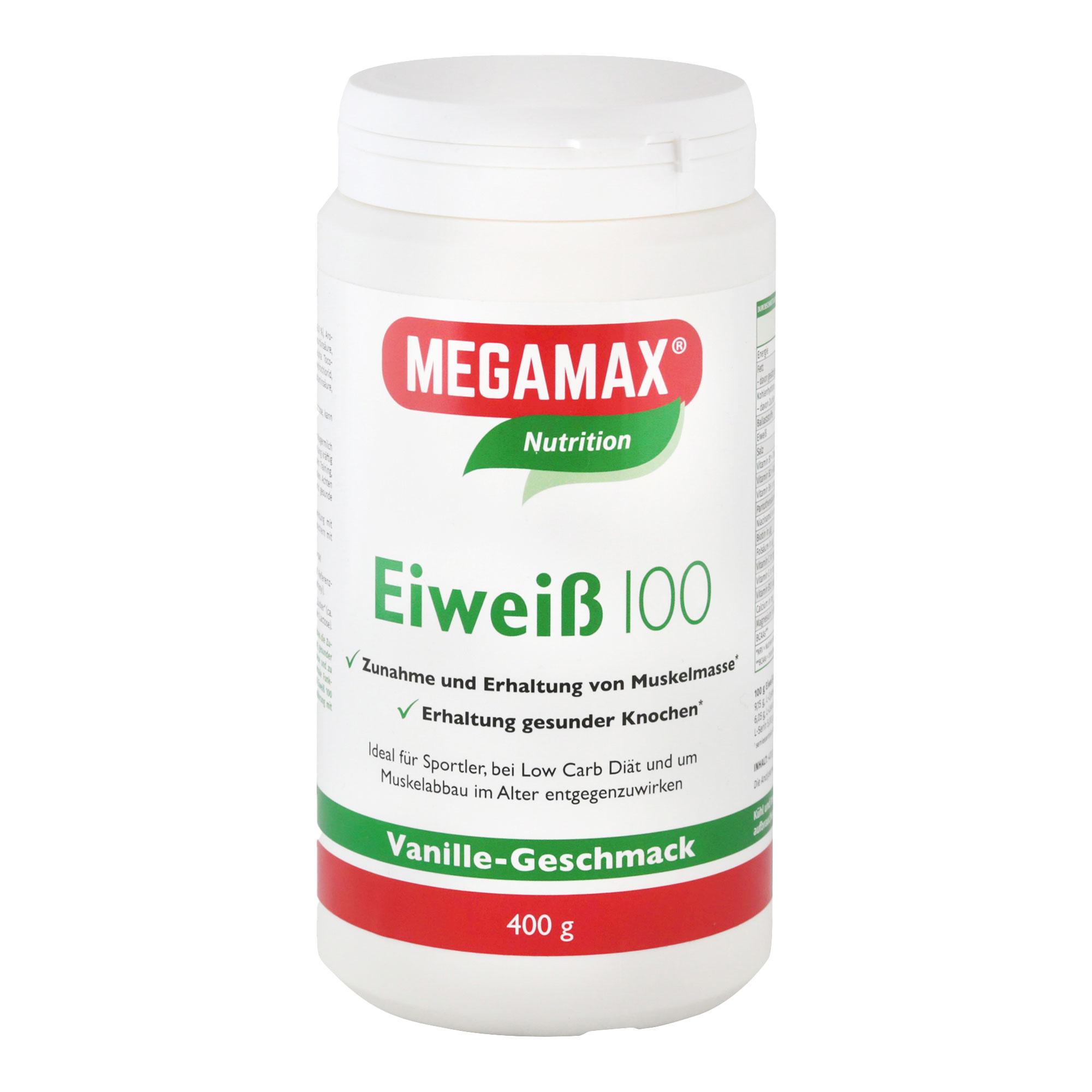 MegaMax Eiweiß 100 Vanille