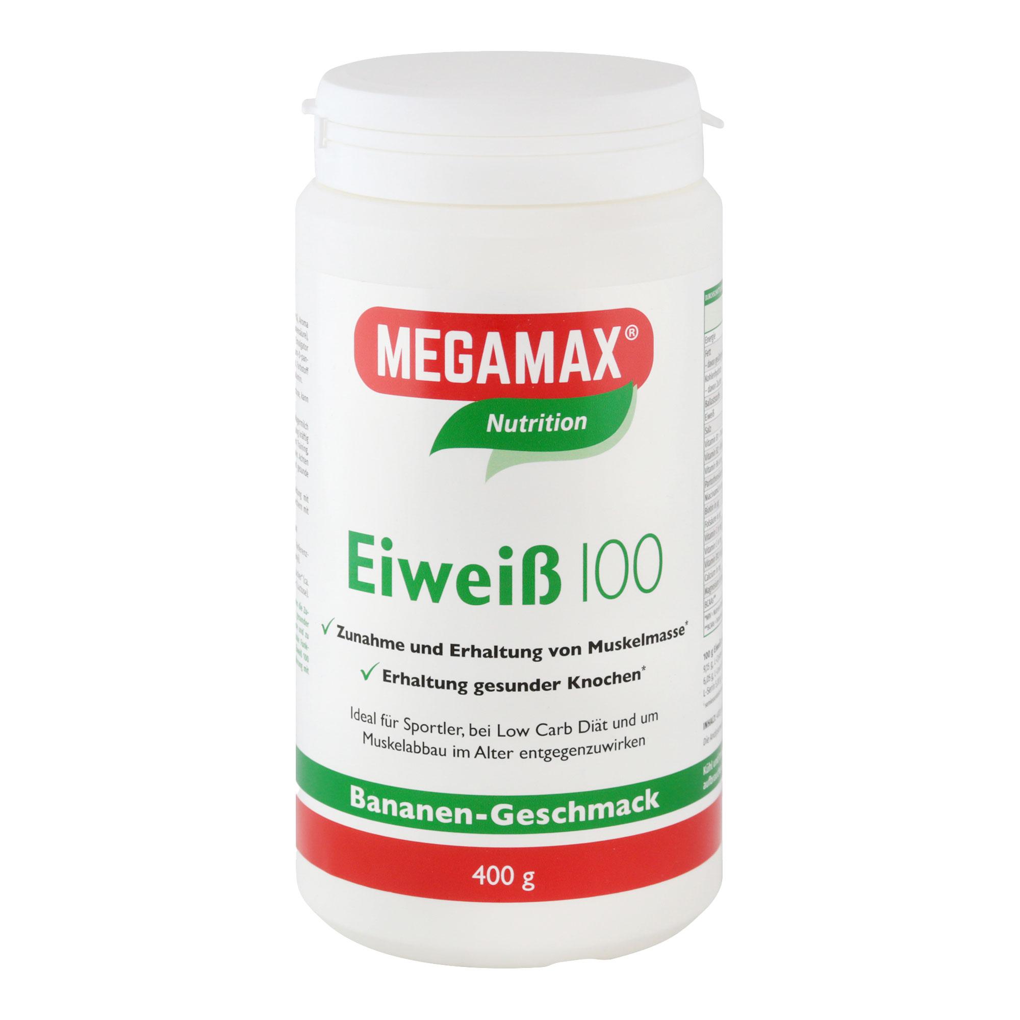 MegaMax Eiweiß 100 Banane