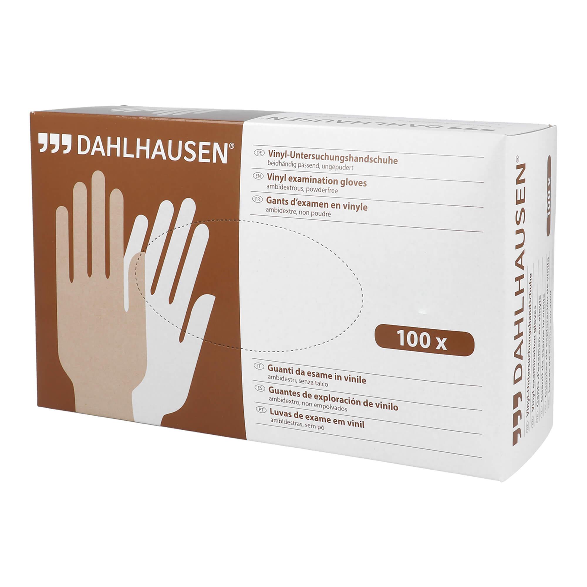 Vinyl Handschuhe ungepudert Größe M