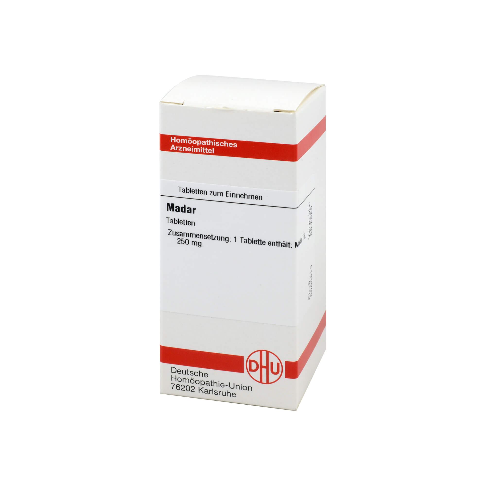 Gesundheit & Wohlbefinden MADAR D 4 Tabletten