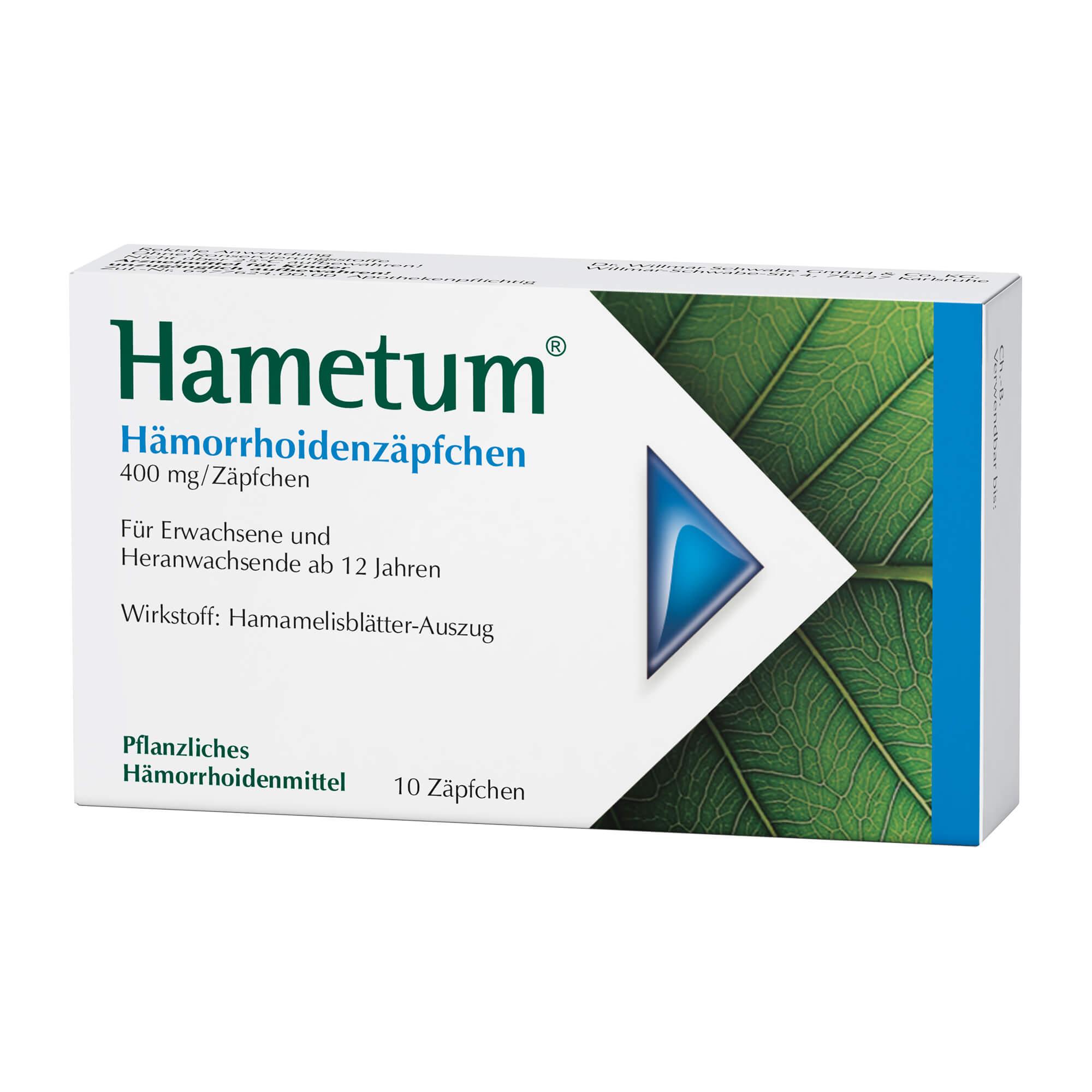 Hametum Hämorrhoidenzäpfchen