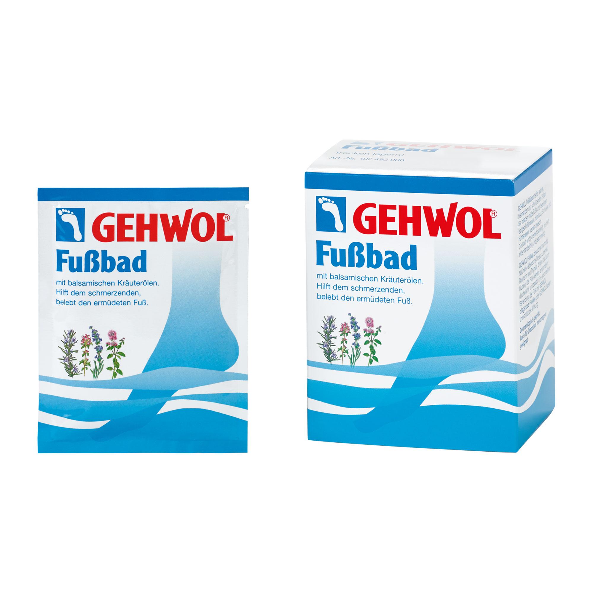 Gehwol Fussbad Portionsbeutel