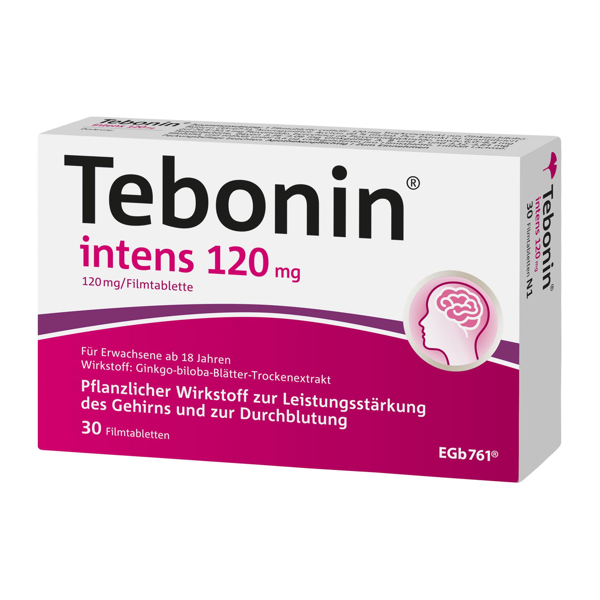 Tebonin intens 120 mg