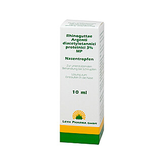 Rhinoguttae Rhinoguttae Argenti diacetylotannici proteinici