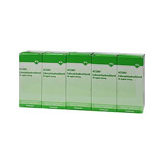 Acoin Lidocainhydrochlorid 40 mg/ml Lösung