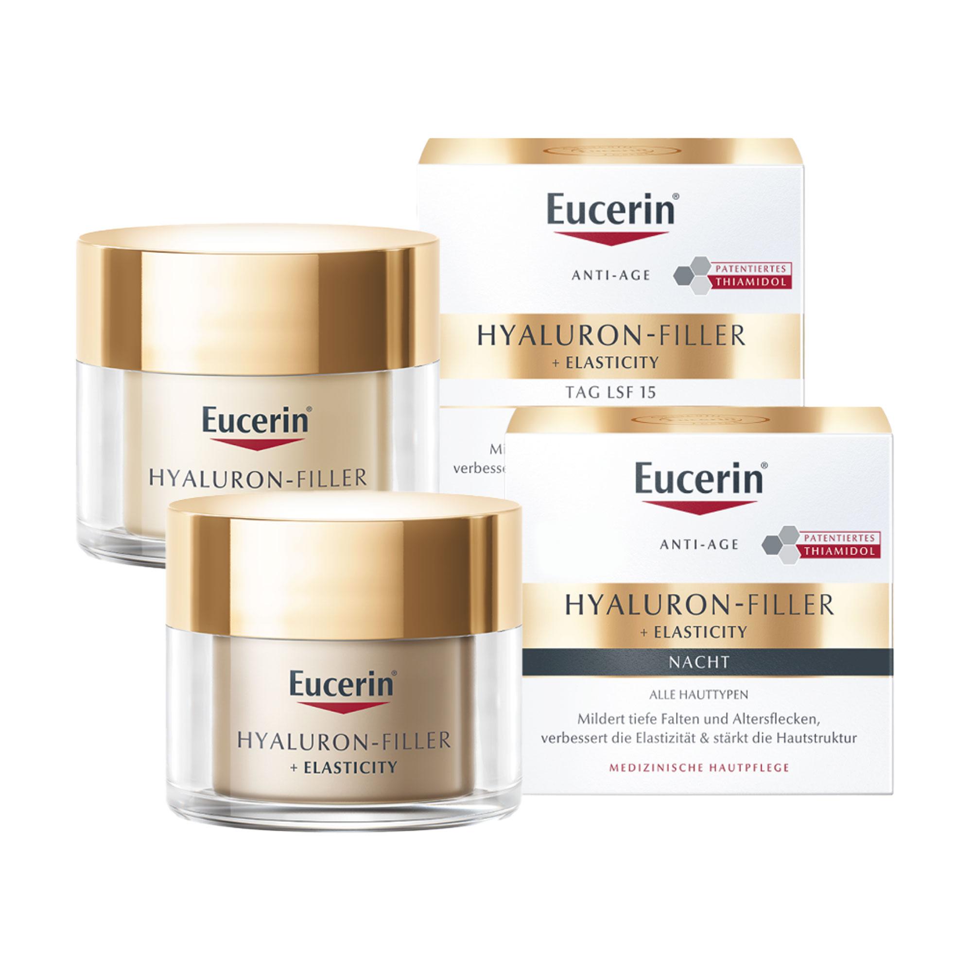 Spar-Set: Eucerin Elasticity+Filler Creme