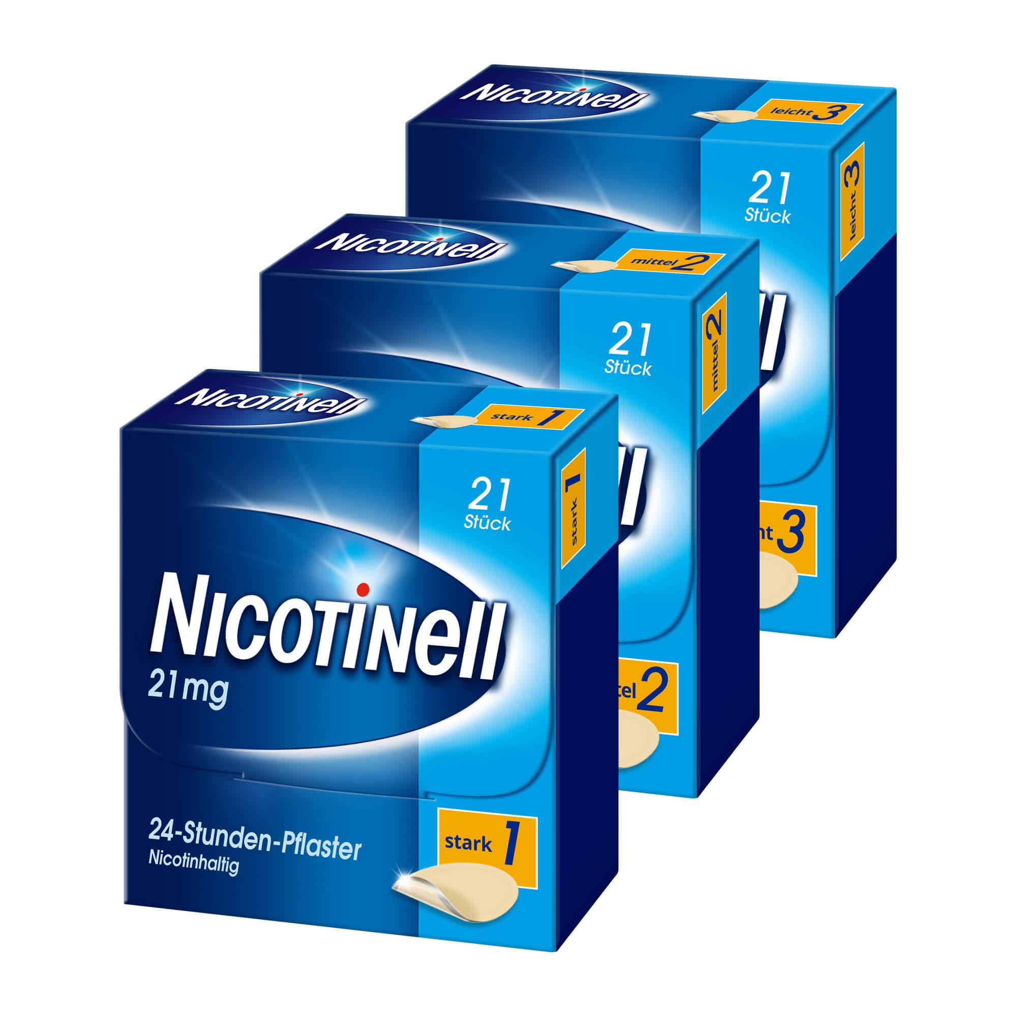 Spar-Set: Nicotinell zur kompletten Entwöhnung