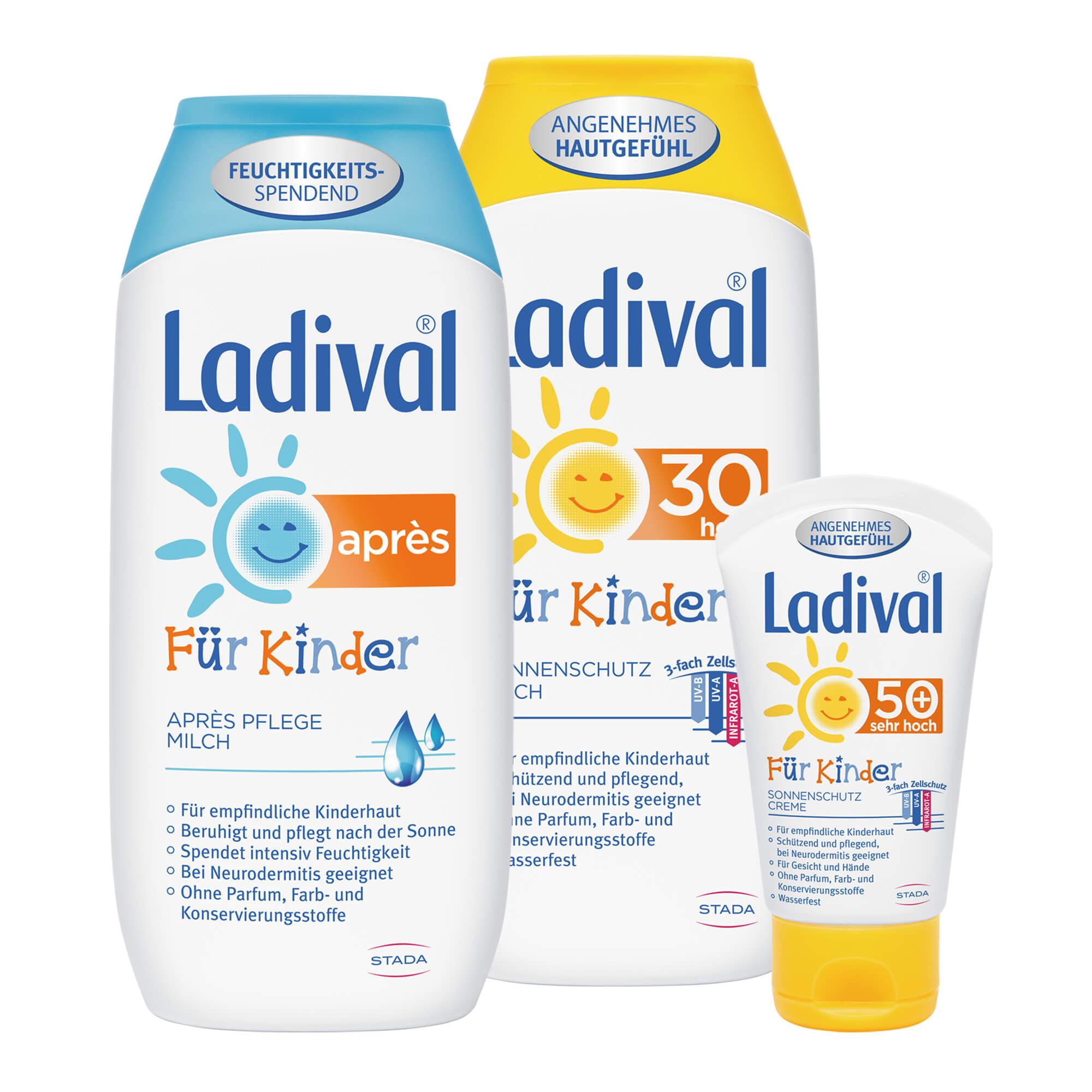 Spar-Set: Ladival Kindersonnenschutz