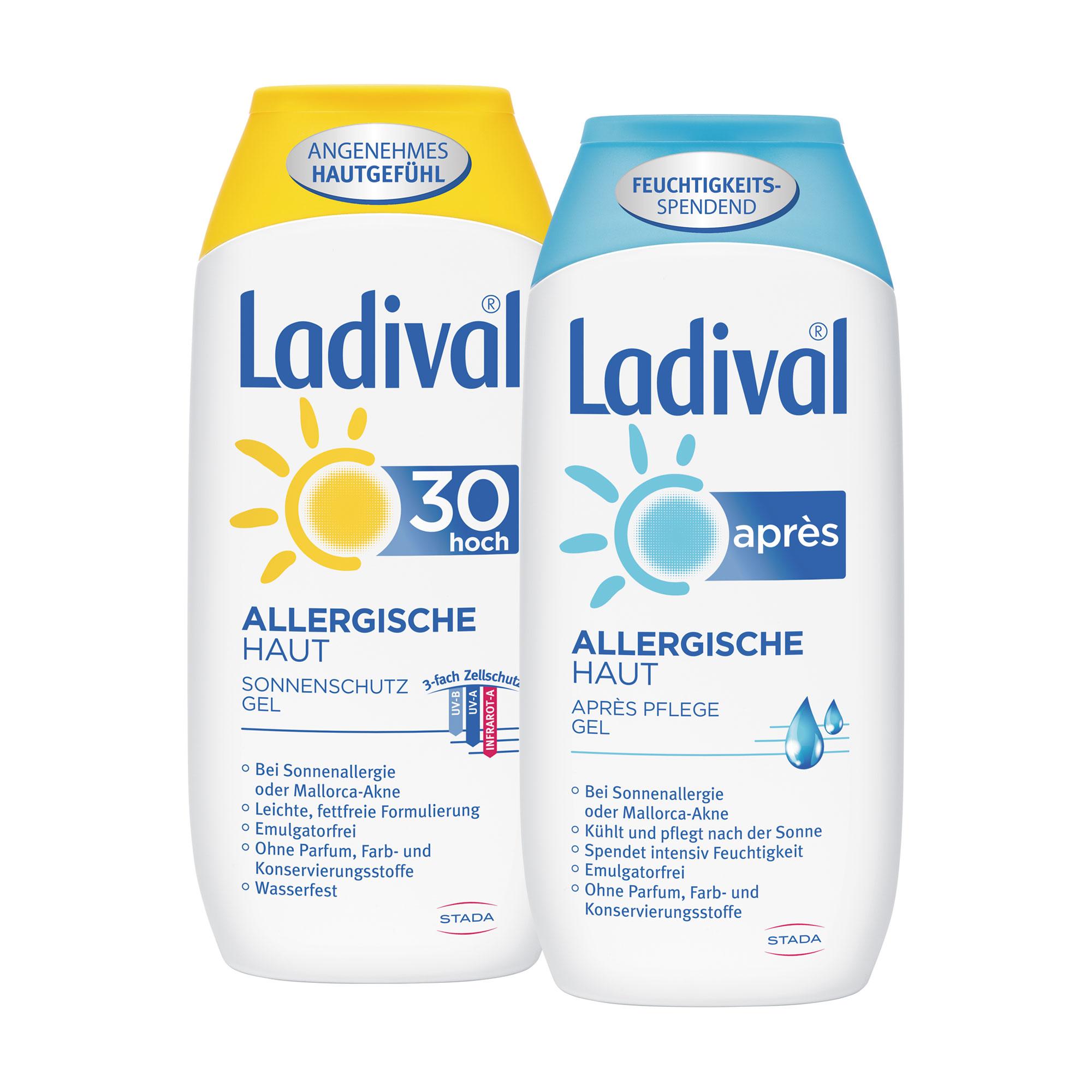 Spar-Set: Ladival Sonnenschutz für Allergische Haut
