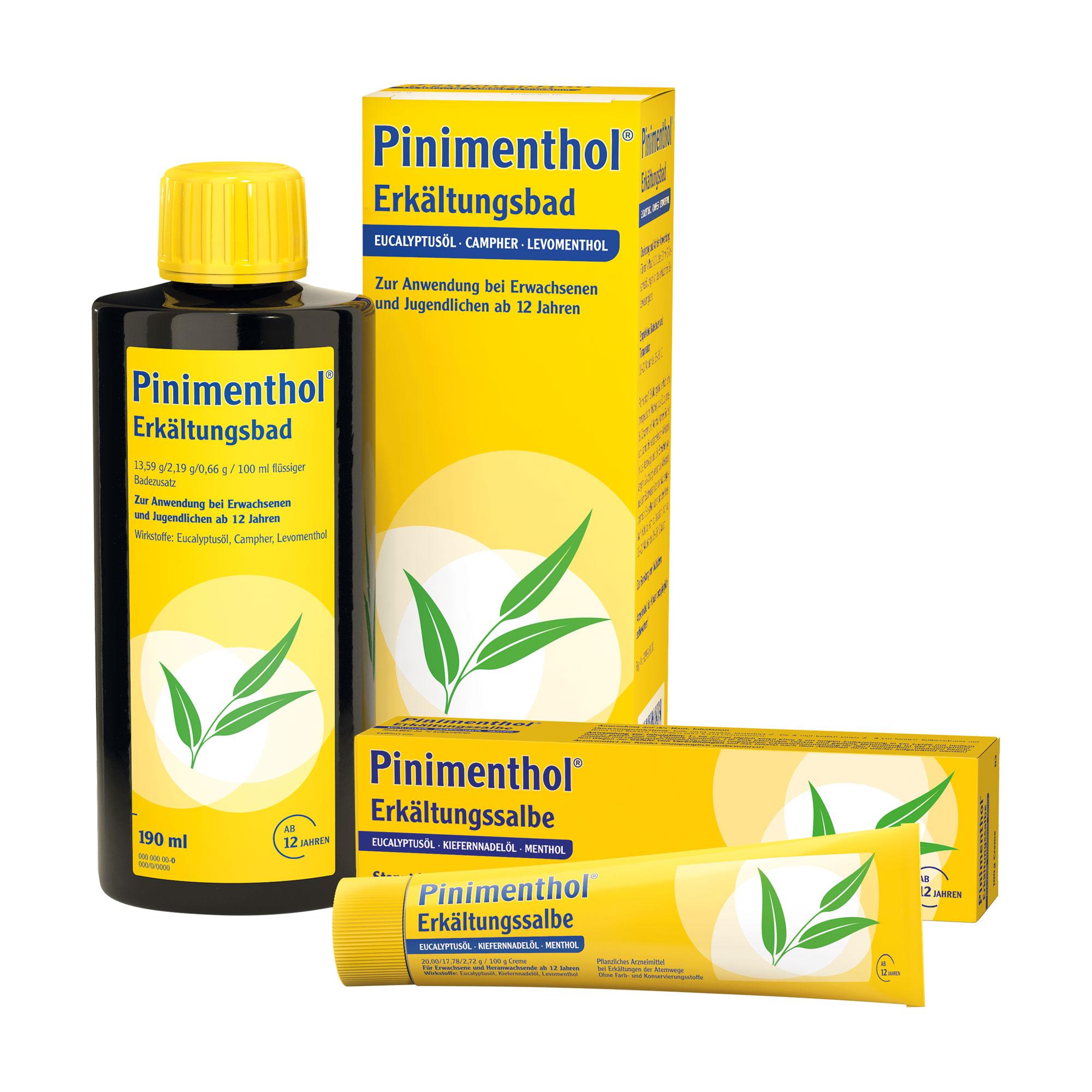 Spar-Set: Pinimenthol Erkältung