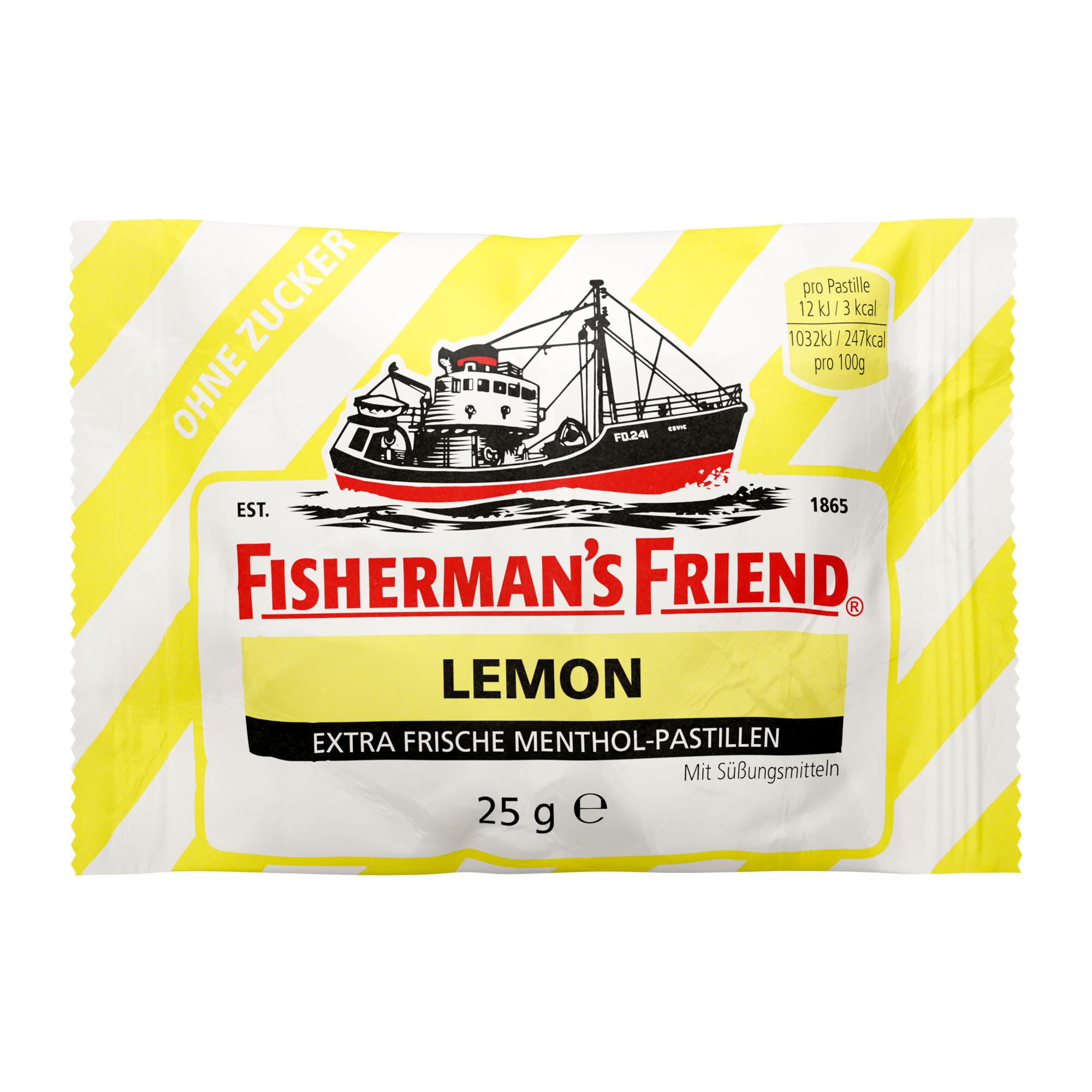 Fishermans Friend Lemon Pastillen ohne Zucker