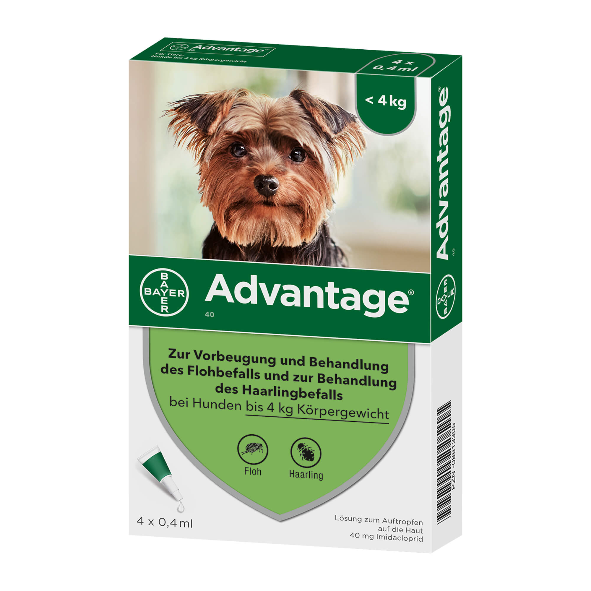 Advantage 40 Hund