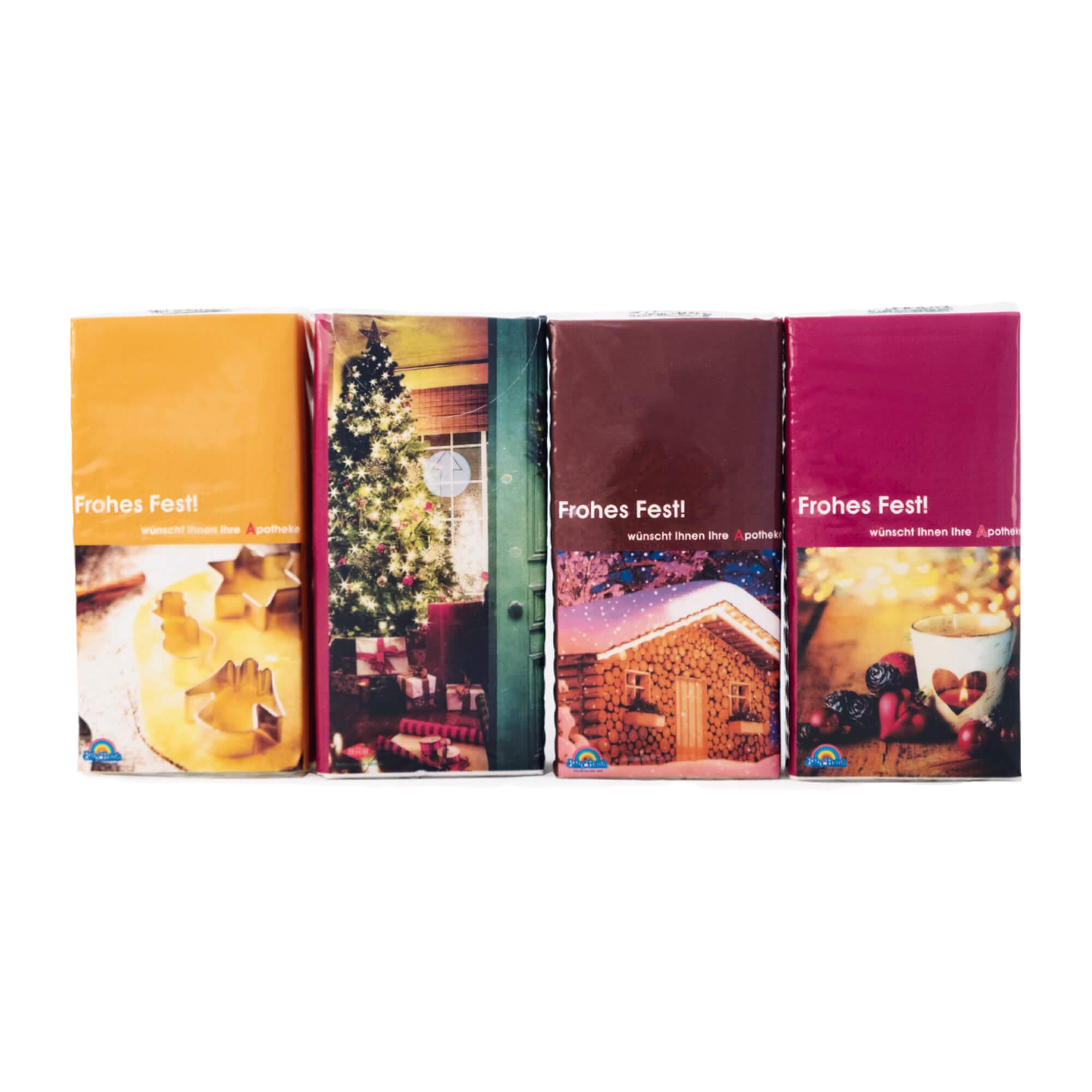 Taschentücher Motiv Weihnachten