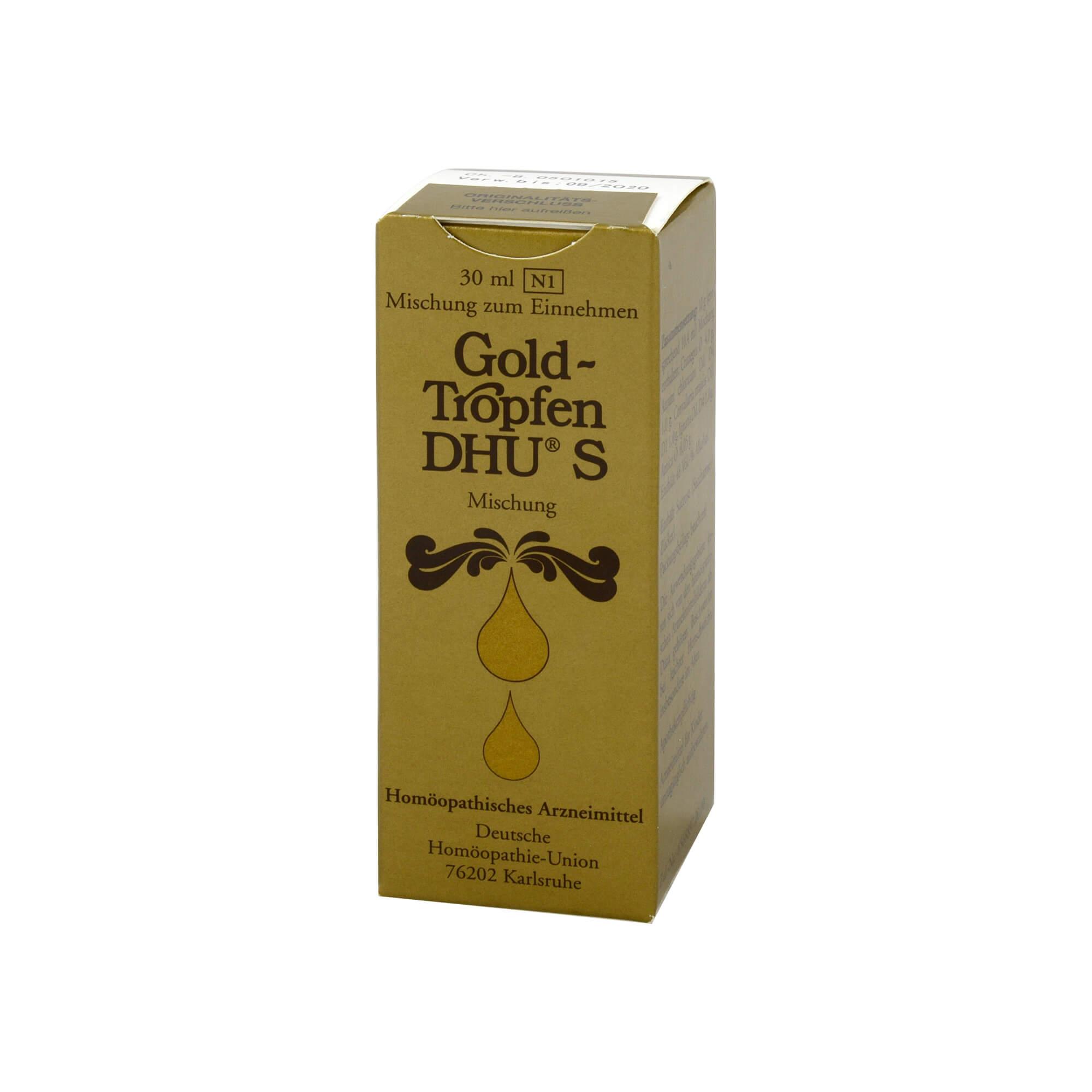 GOLDTROPFEN DHU S