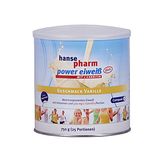 Hansepharm Power-Eiweiß plus Vanille