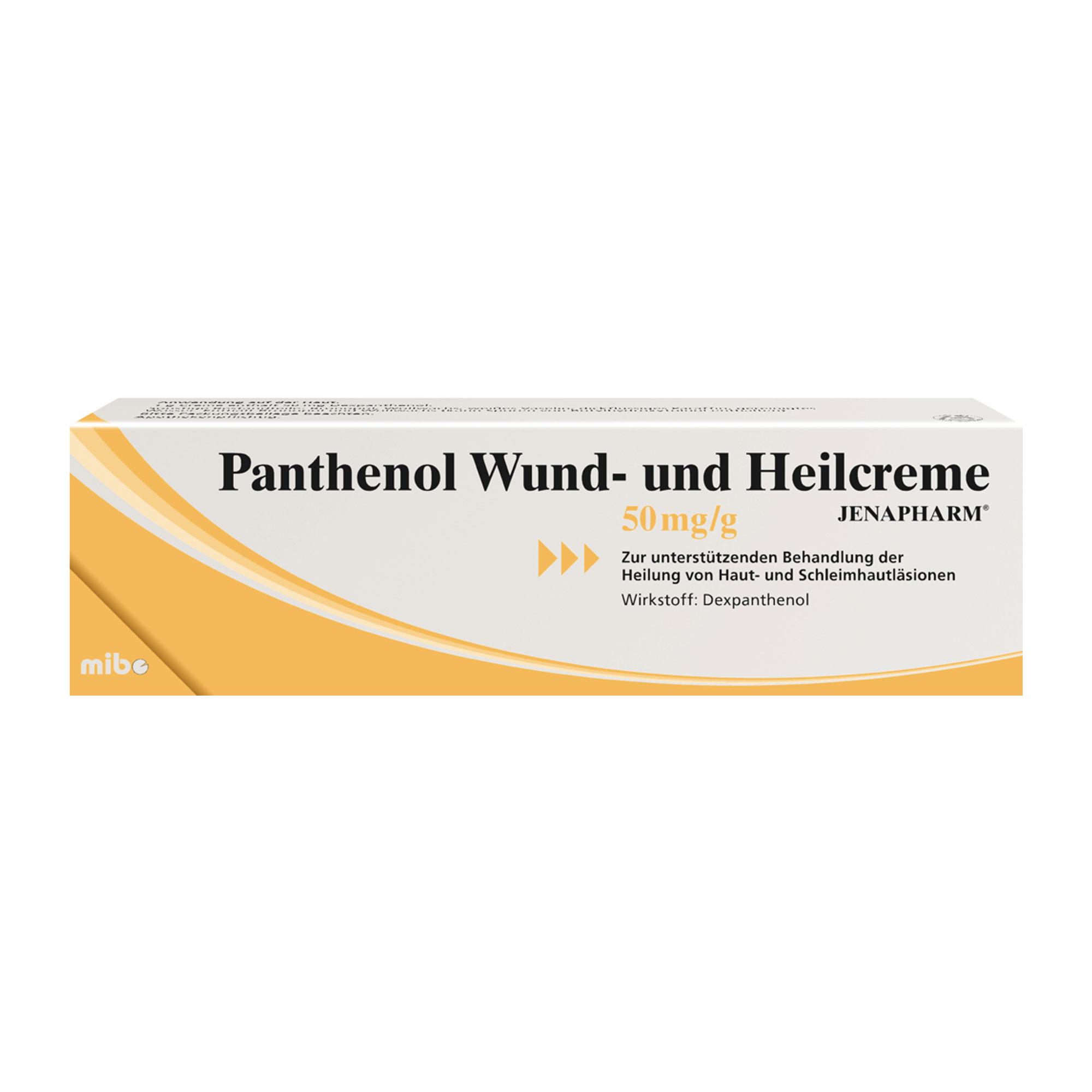 Panthenol Wund- und Heilcreme