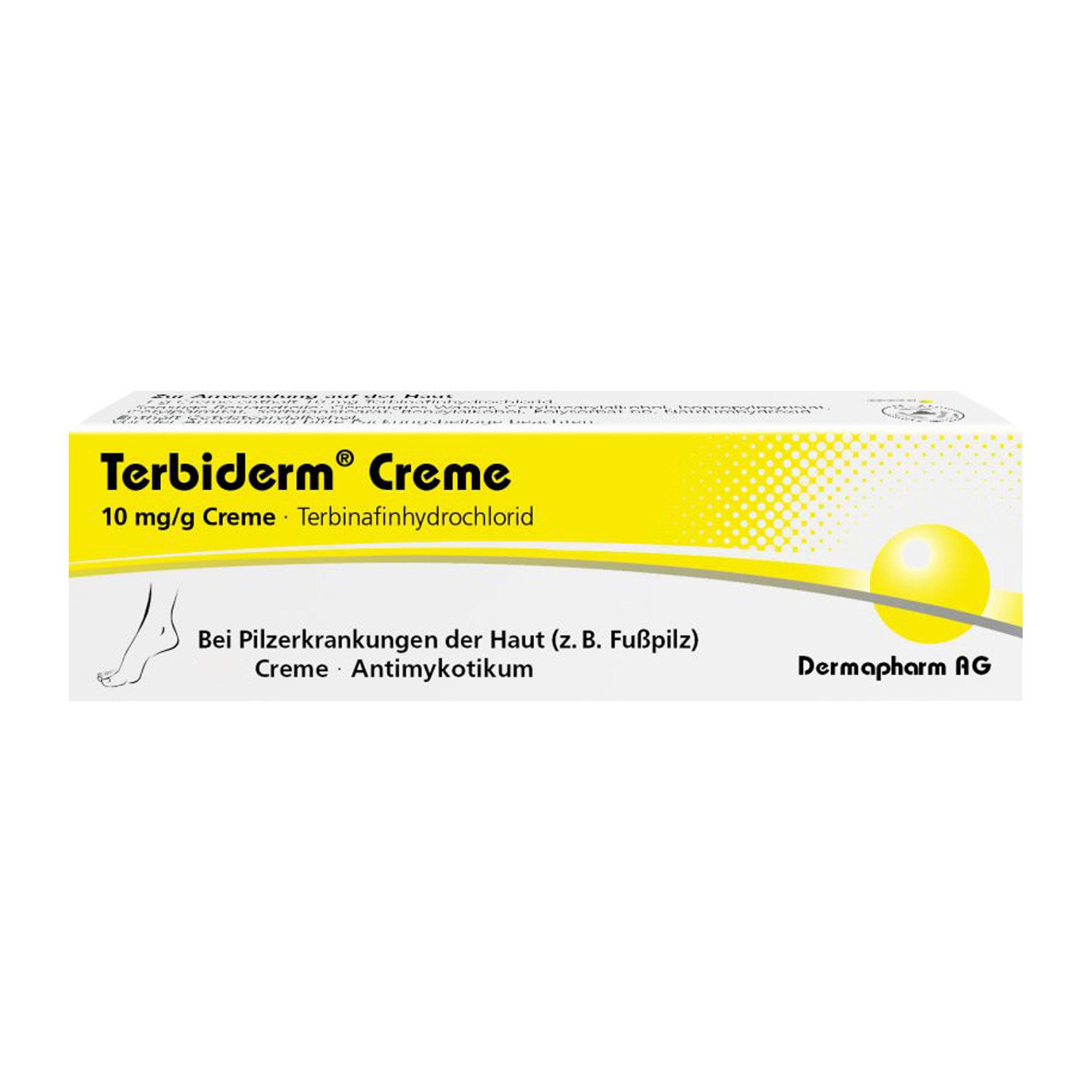 Terbiderm 10 mg/g Creme
