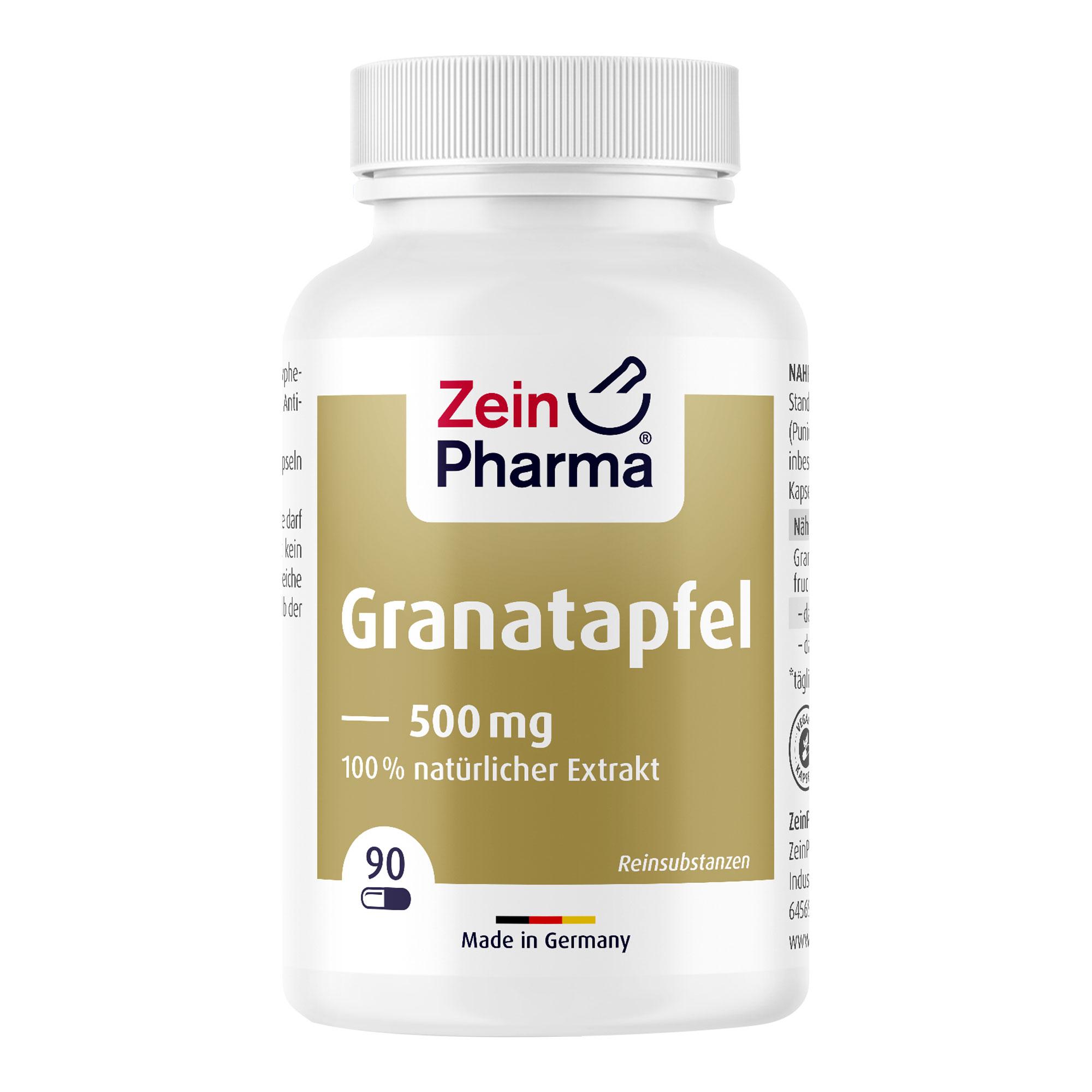 Granatapfel 500 mg Kapseln