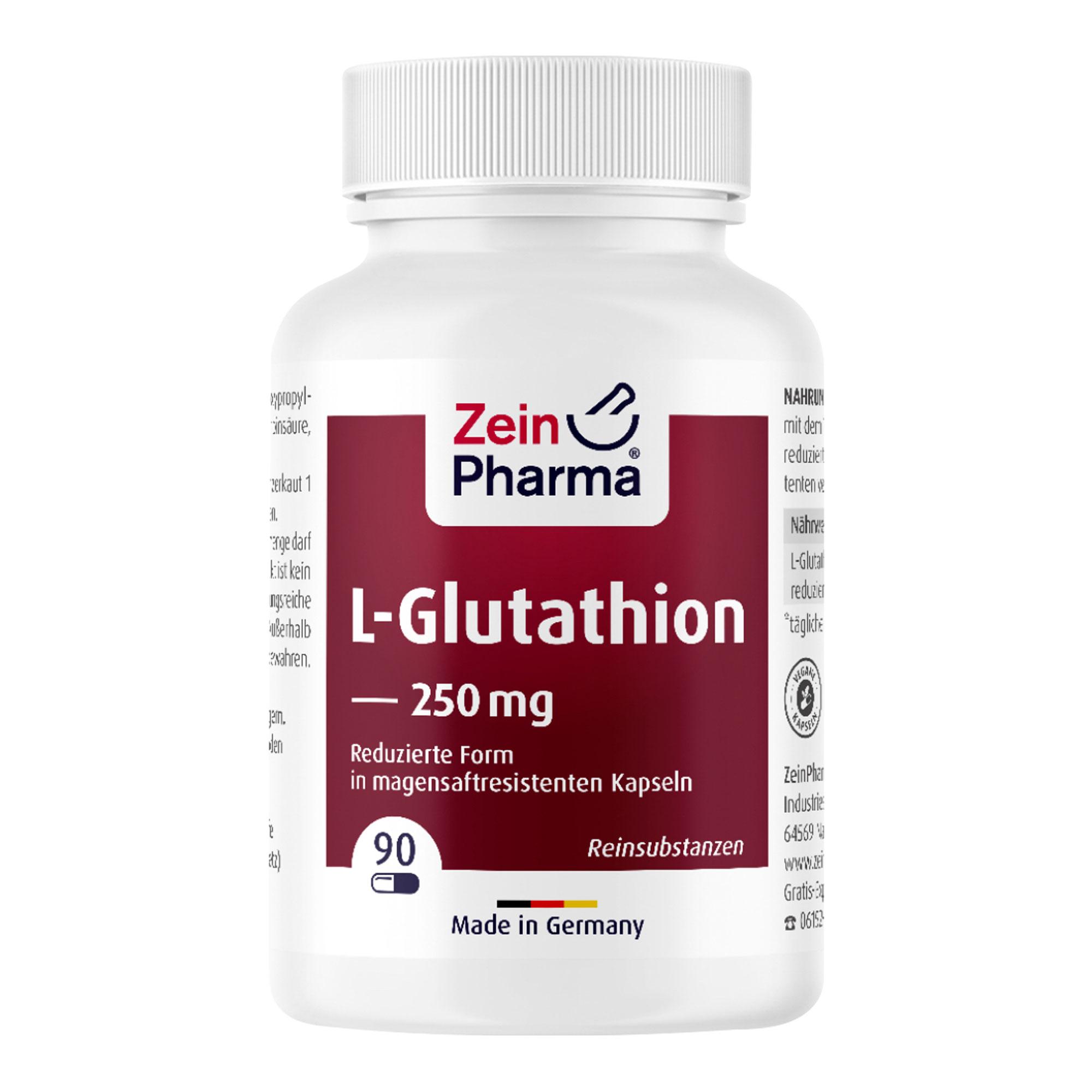 LGlutathion Reduziert Kapseln 250 mg