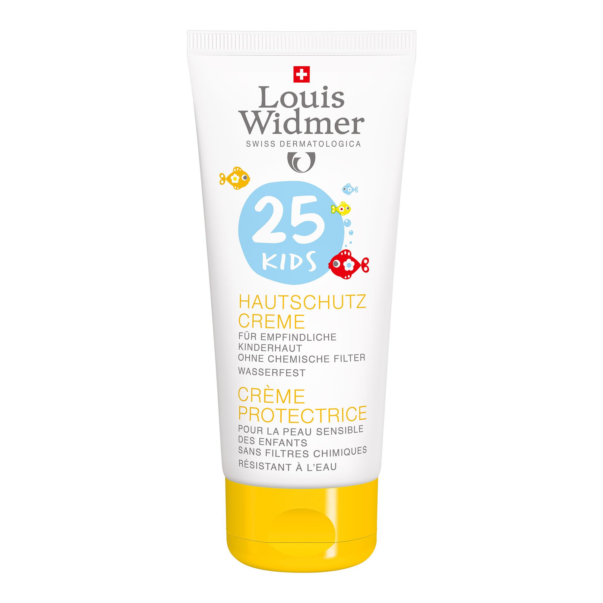 Louis Widmer Kids Hautschutz Creme SPF25 unparfümiert