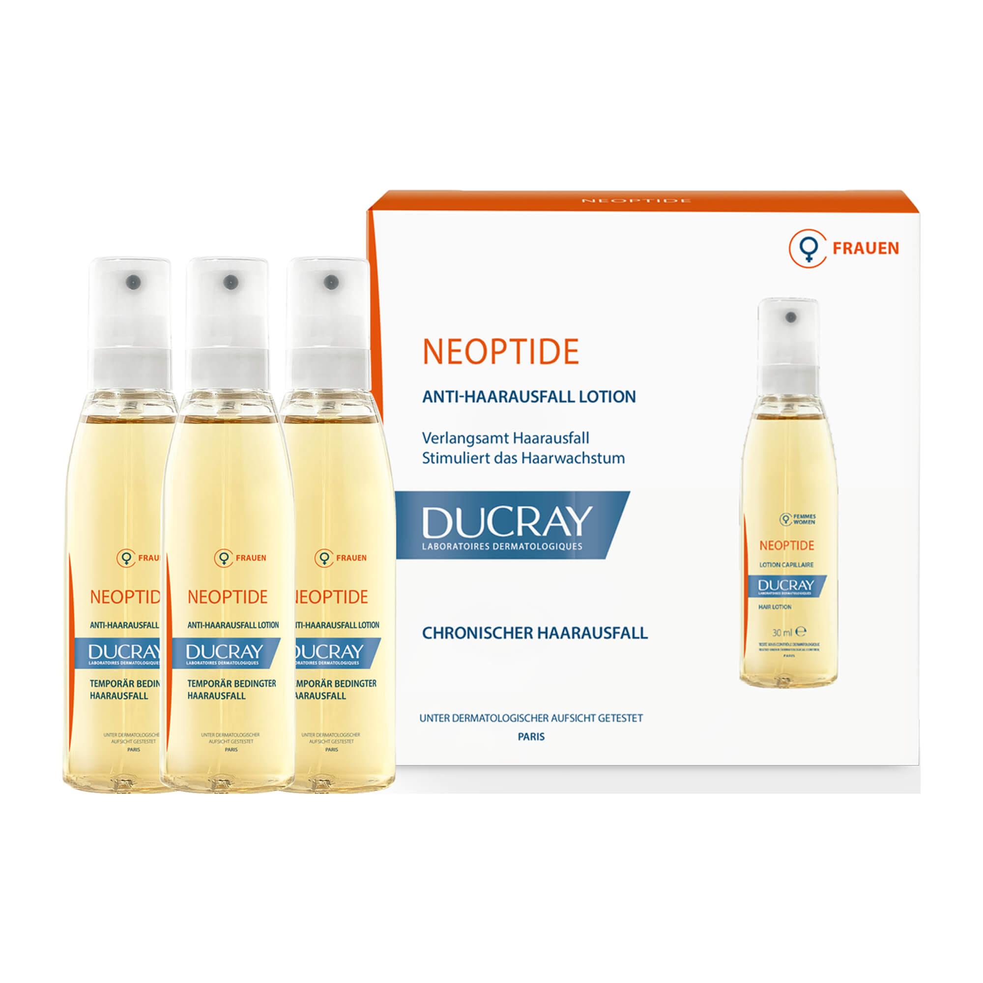 Ducray Neoptide anlagebedingte Haarausfall Tinktur