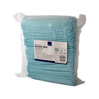 Zahnarzt Lätze 41x45 cm Blau