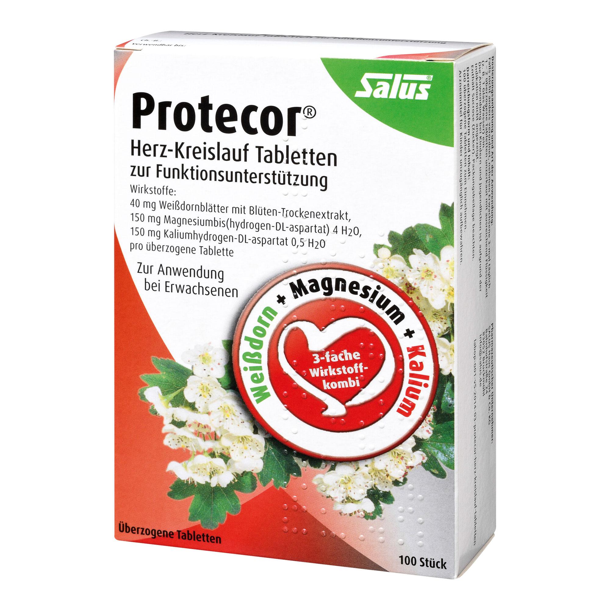 Gesundheit & Wohlbefinden Protecor Herz-Kreislauf-Funktionsunterstützung